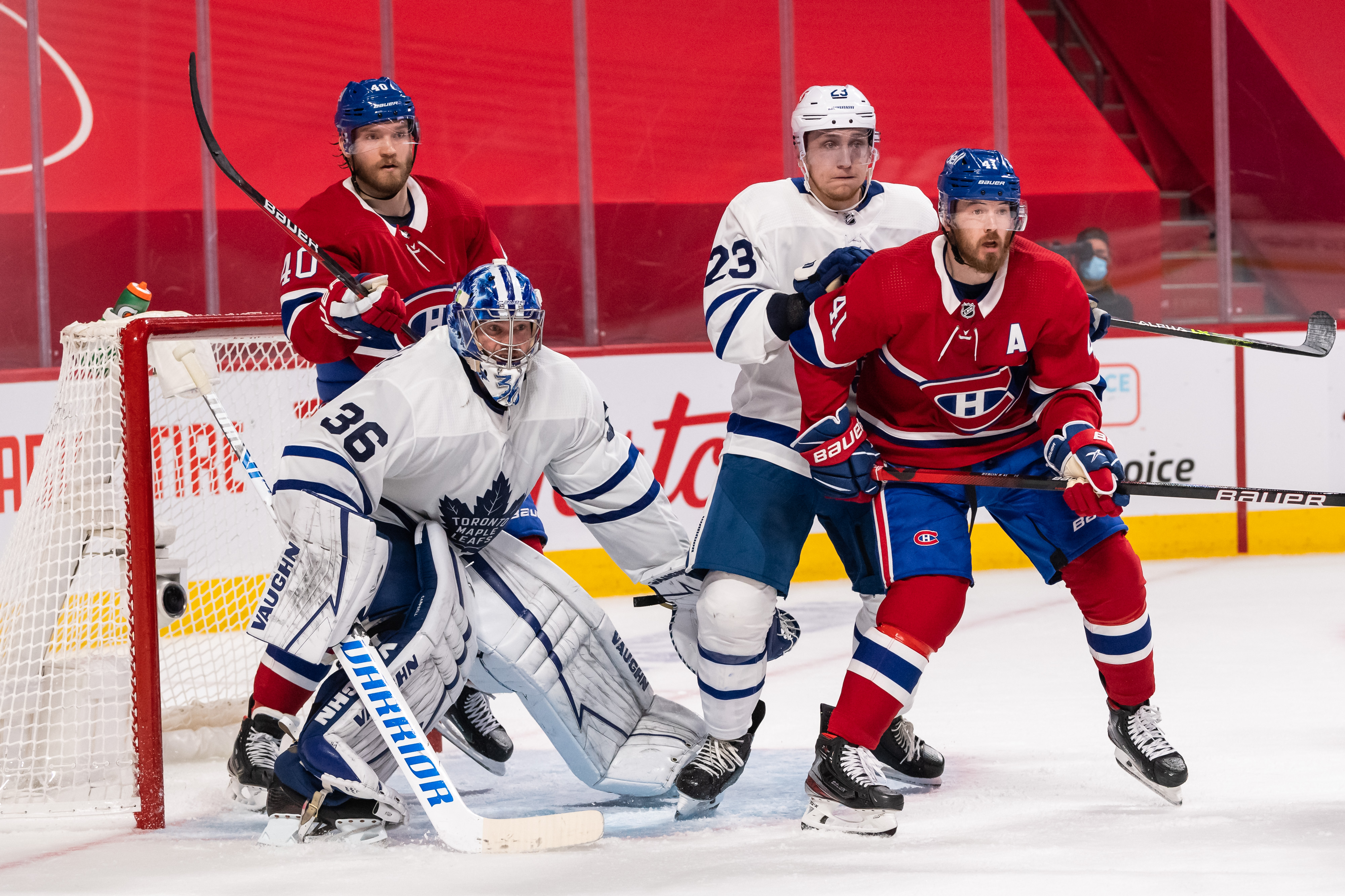 NHL: MAY 25 Stanley Cup Playoffs First Round - Maple Leafs at Canadiens