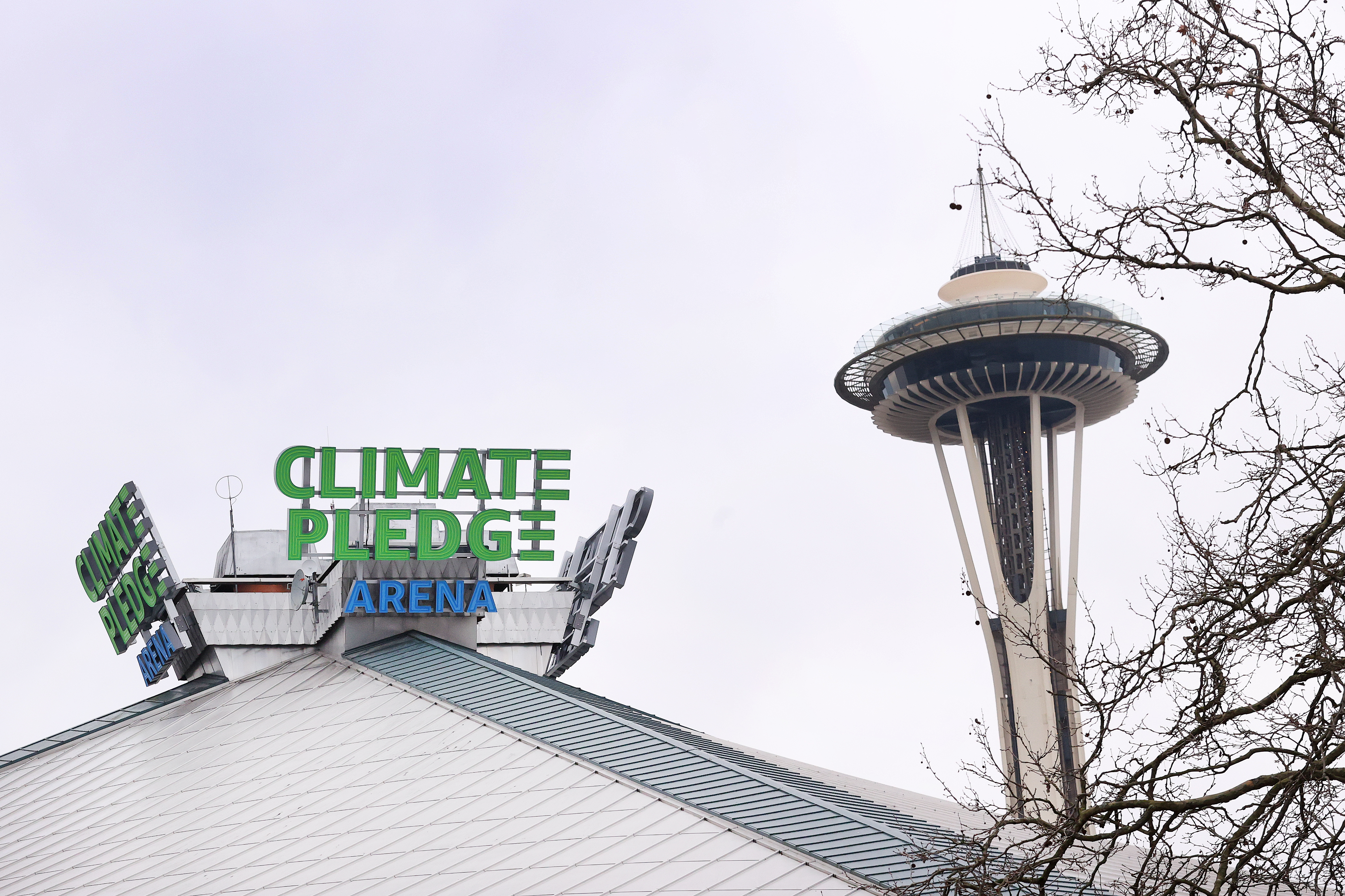 General Views Of Climate Pledge Arena