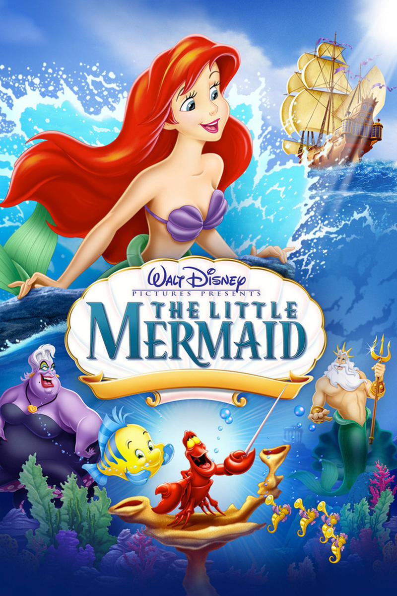 """The poster from """"The Little Mermaid."""""""