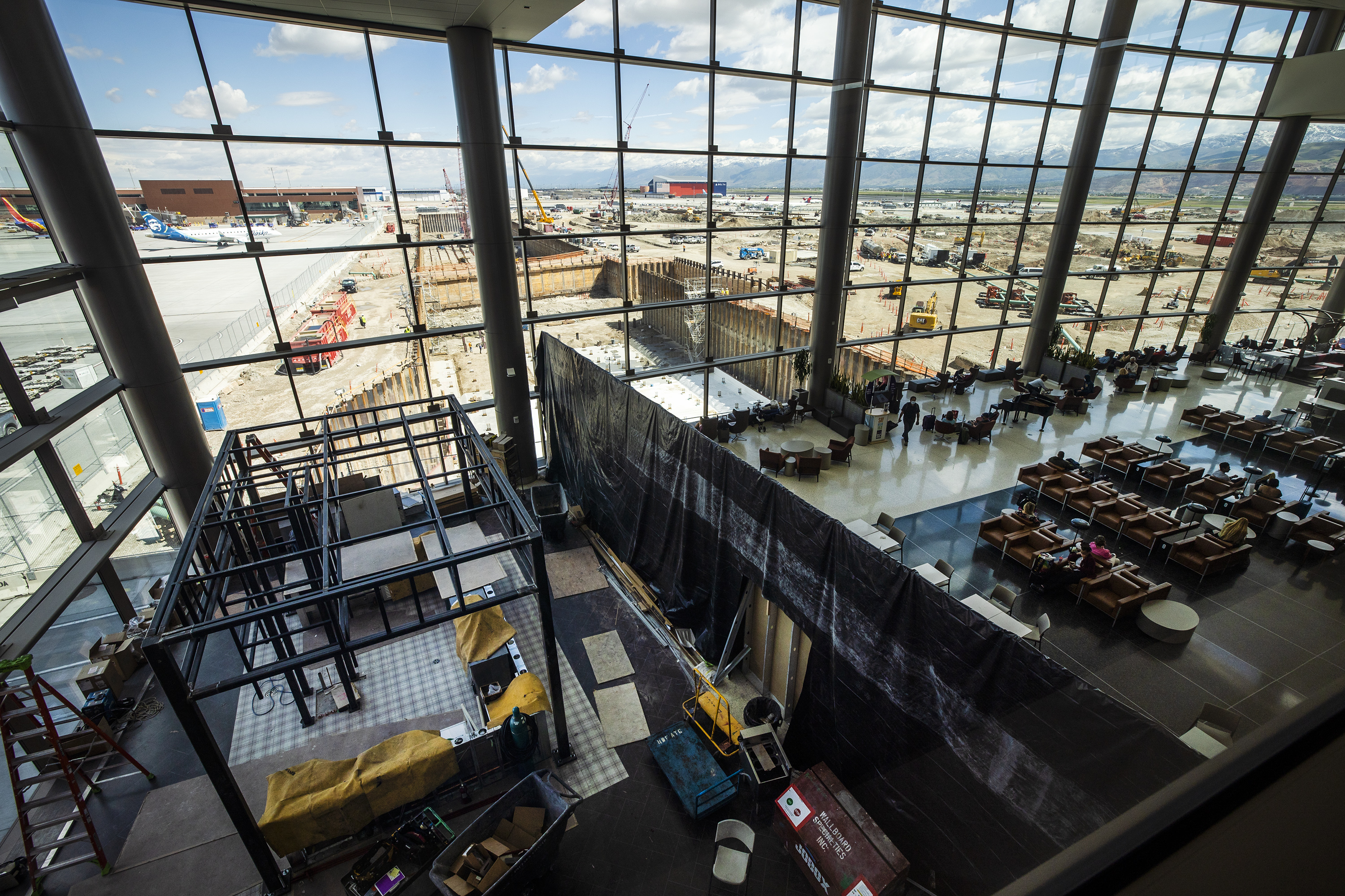 The generational, $4.1 billion new Salt Lake City International Airport opened in September 2020. But construction is far from done.