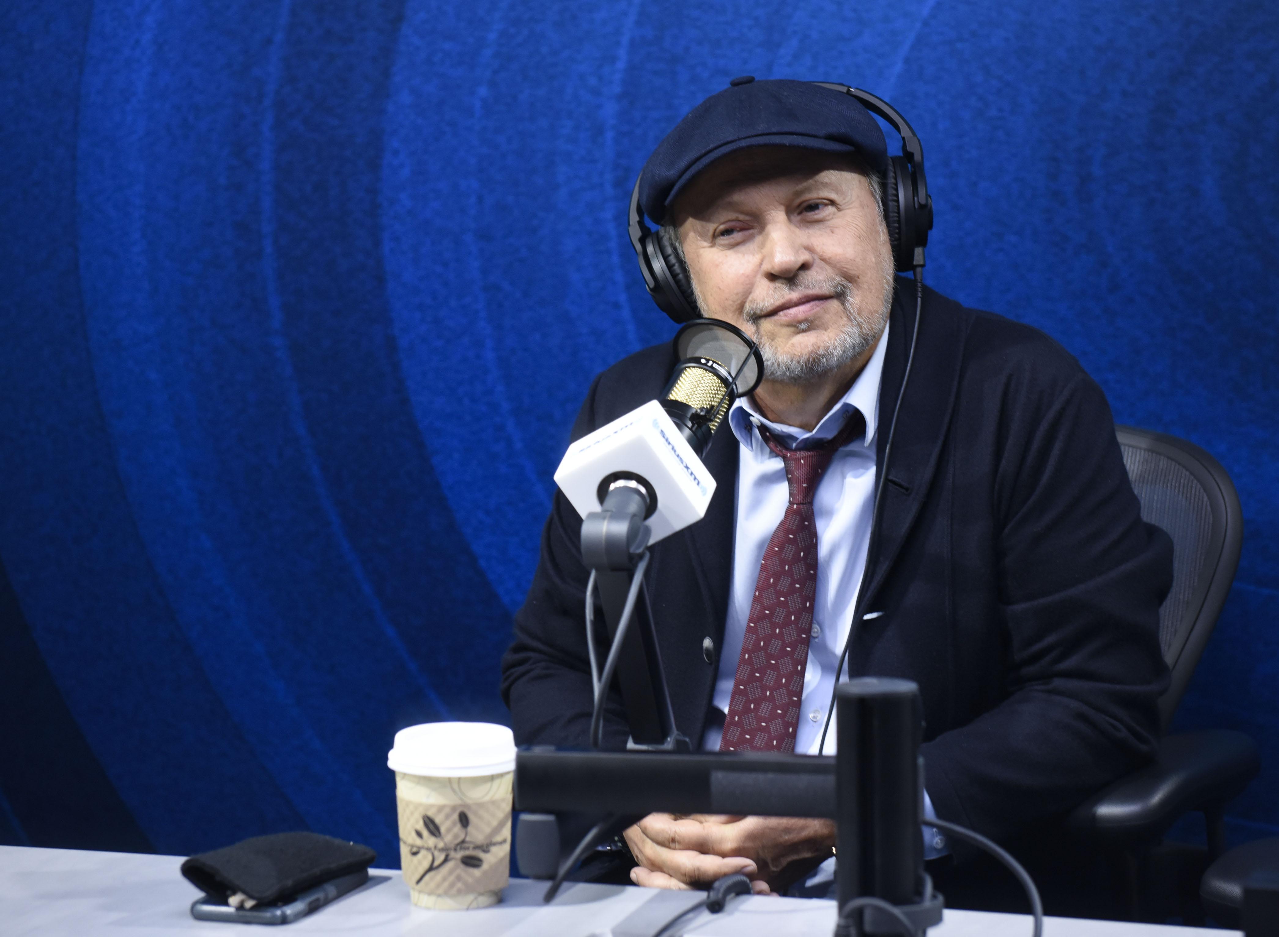 比利克里斯托访问SiriusXM的杰西卡格尔显示在SiriusXM好莱坞工作室