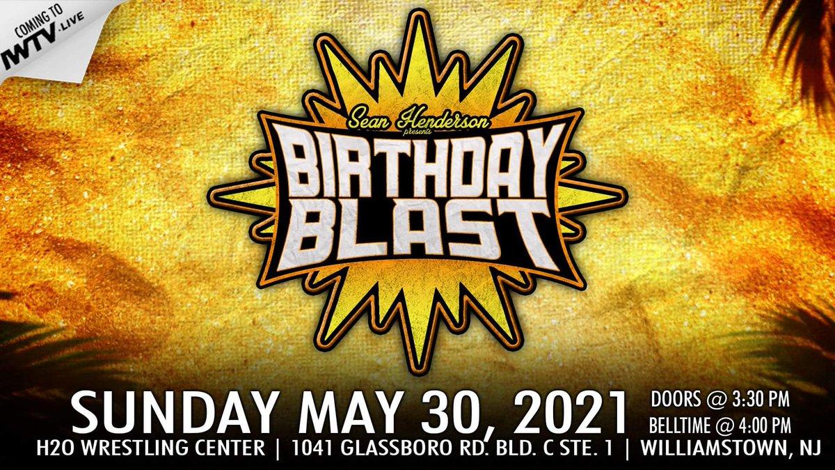 Poster for SHP Birthday Blast
