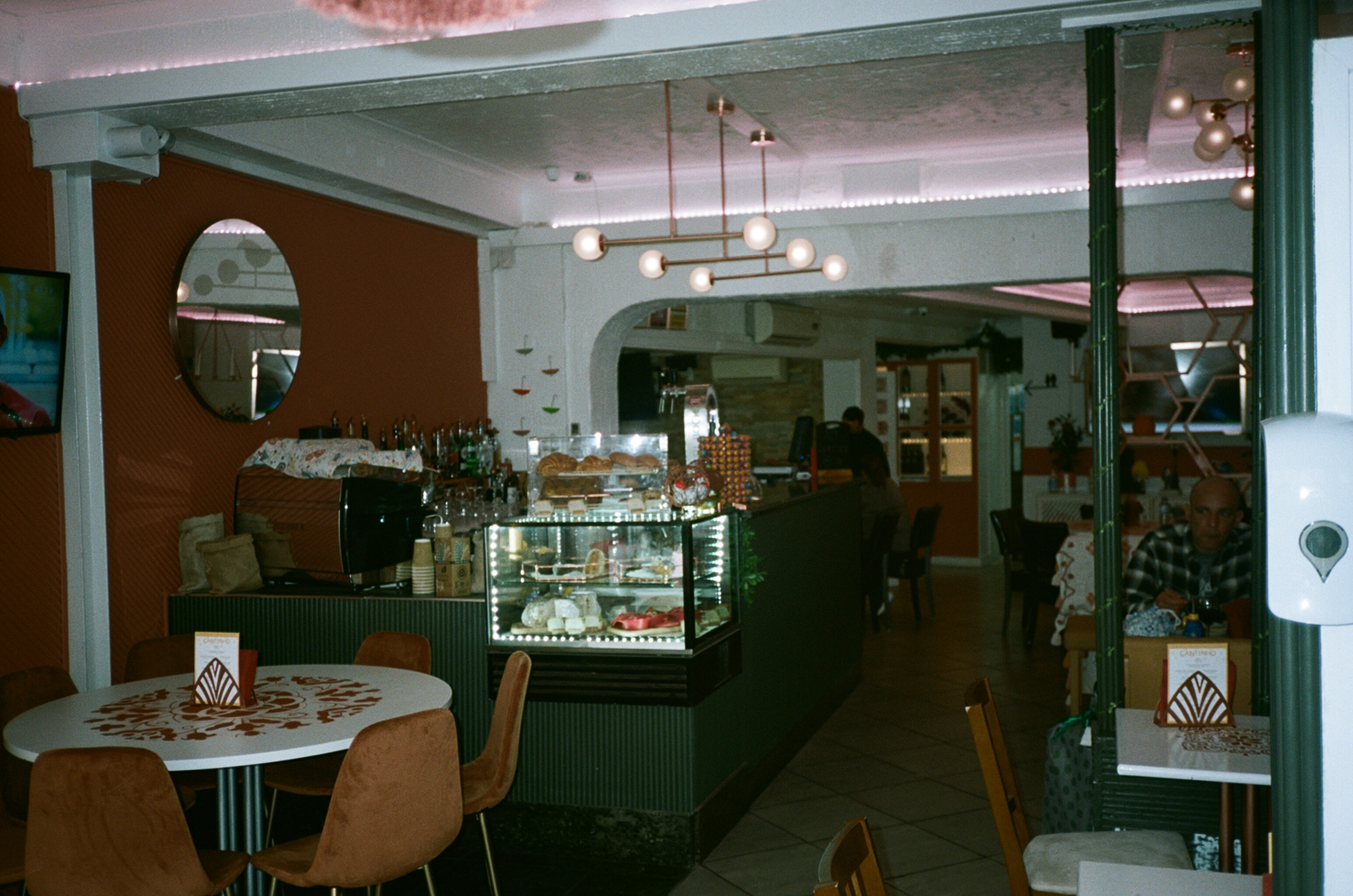Inside the dining room at O Cantinho De Portugal