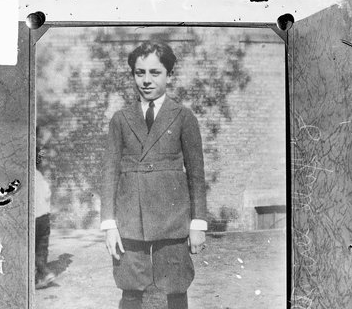 Bobby Franks as he looked in 1924.