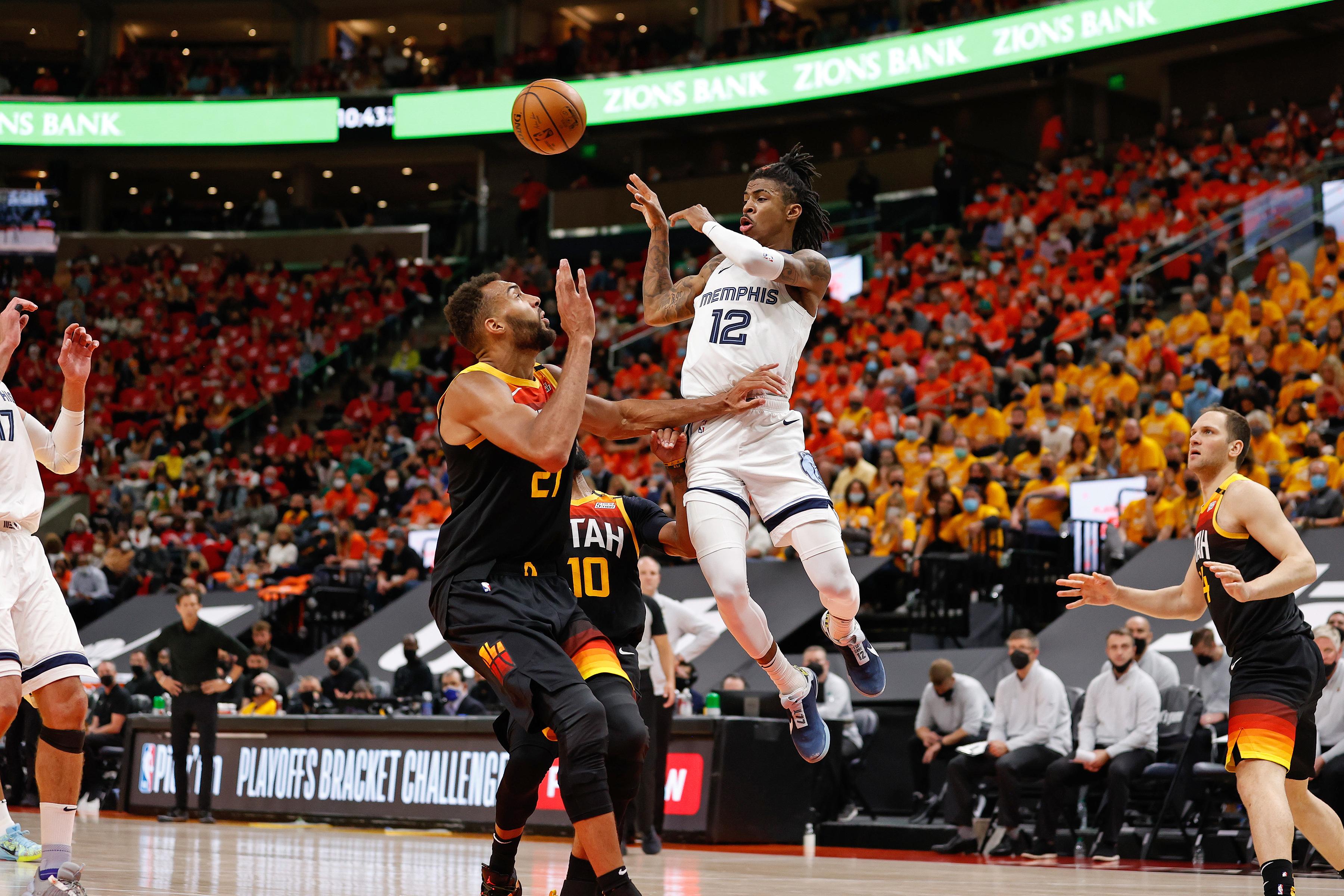 2021年NBA季后赛——孟菲斯灰熊vs犹他爵士