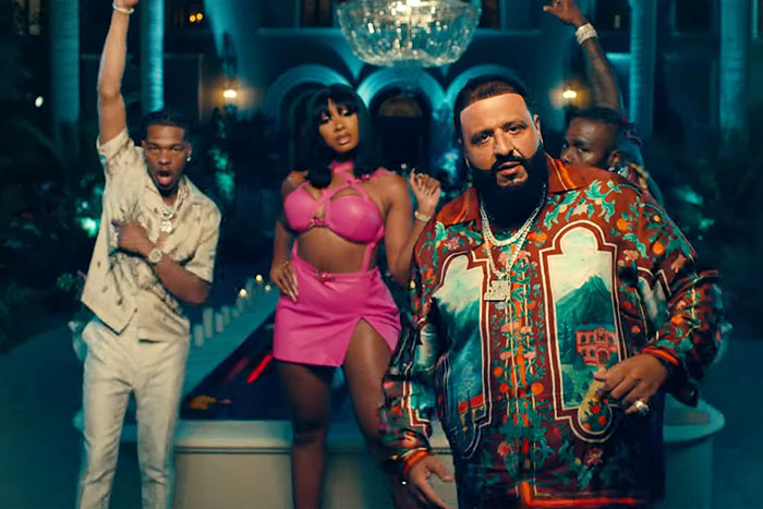 Lil Baby, Megan Thee Stallion, DJ Khaled, and Lil Baby