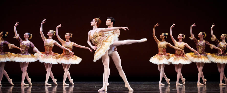 """Artists of Ballet West perform in """"Paquita."""""""