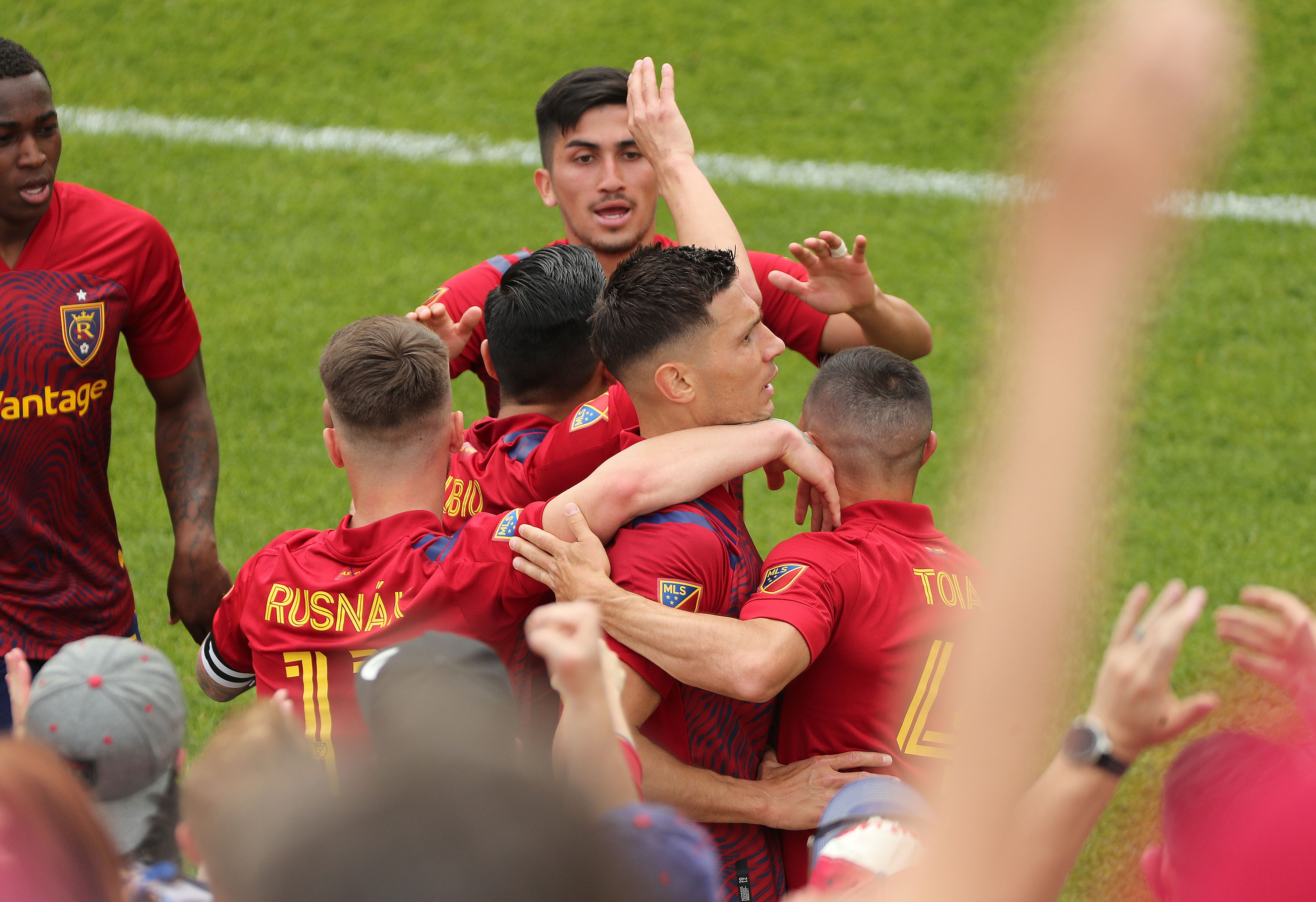 Damir Kreliach scored RSL's lone goal in a 1-1 draw with Minnesota United on Saturday, May 29, 2021.