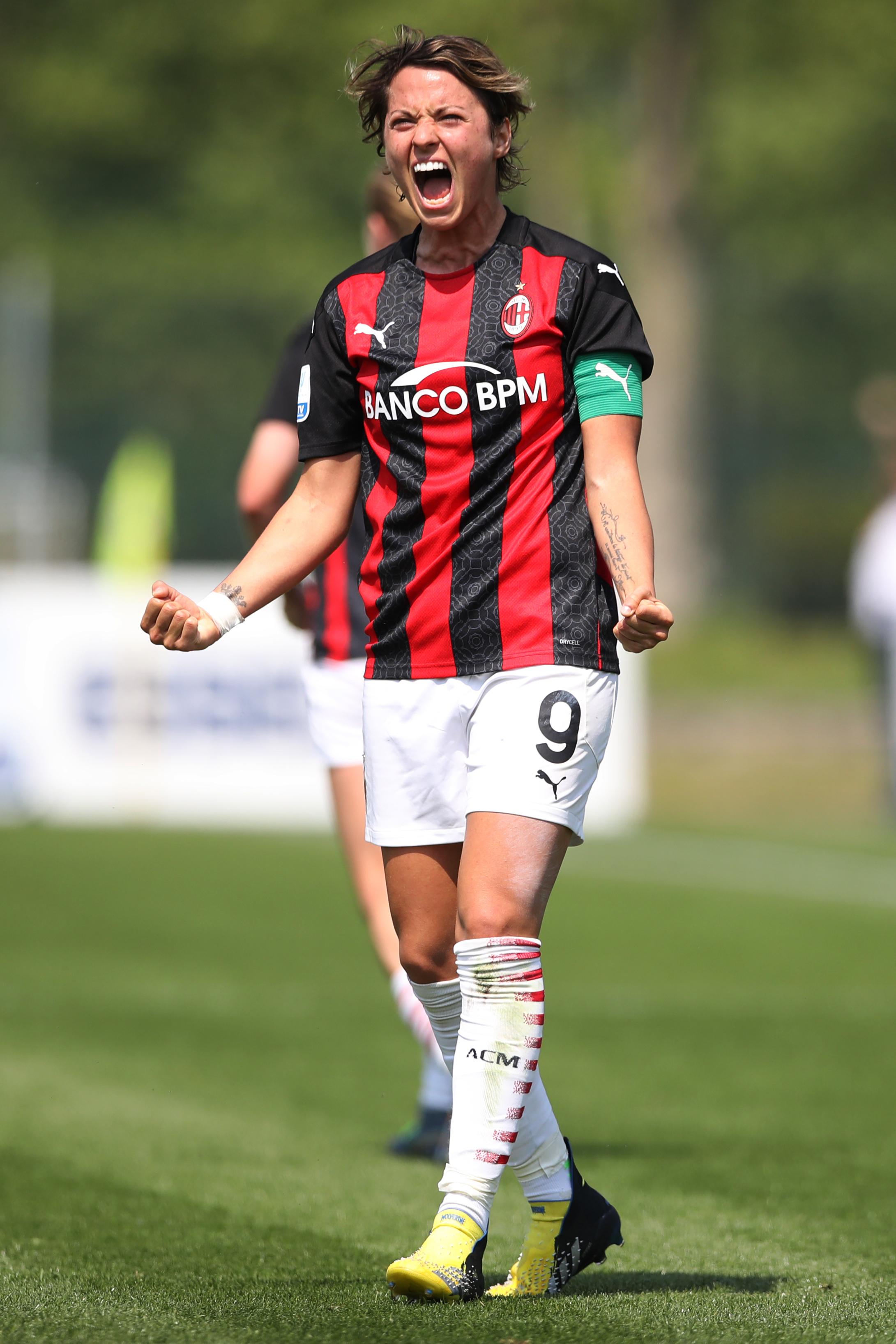 AC Milan v FC Internazionale - Women's Coppa Italia