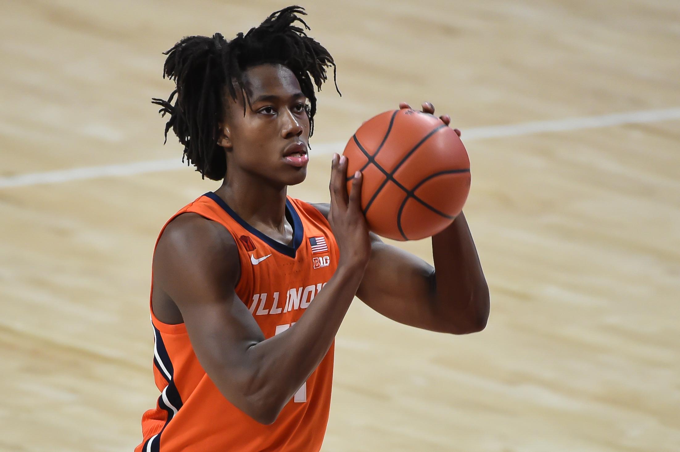 NCAA Basketball: Illinois at Nebraska