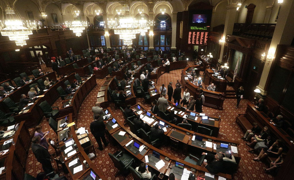 The Illinois House of Representatives in 2016.