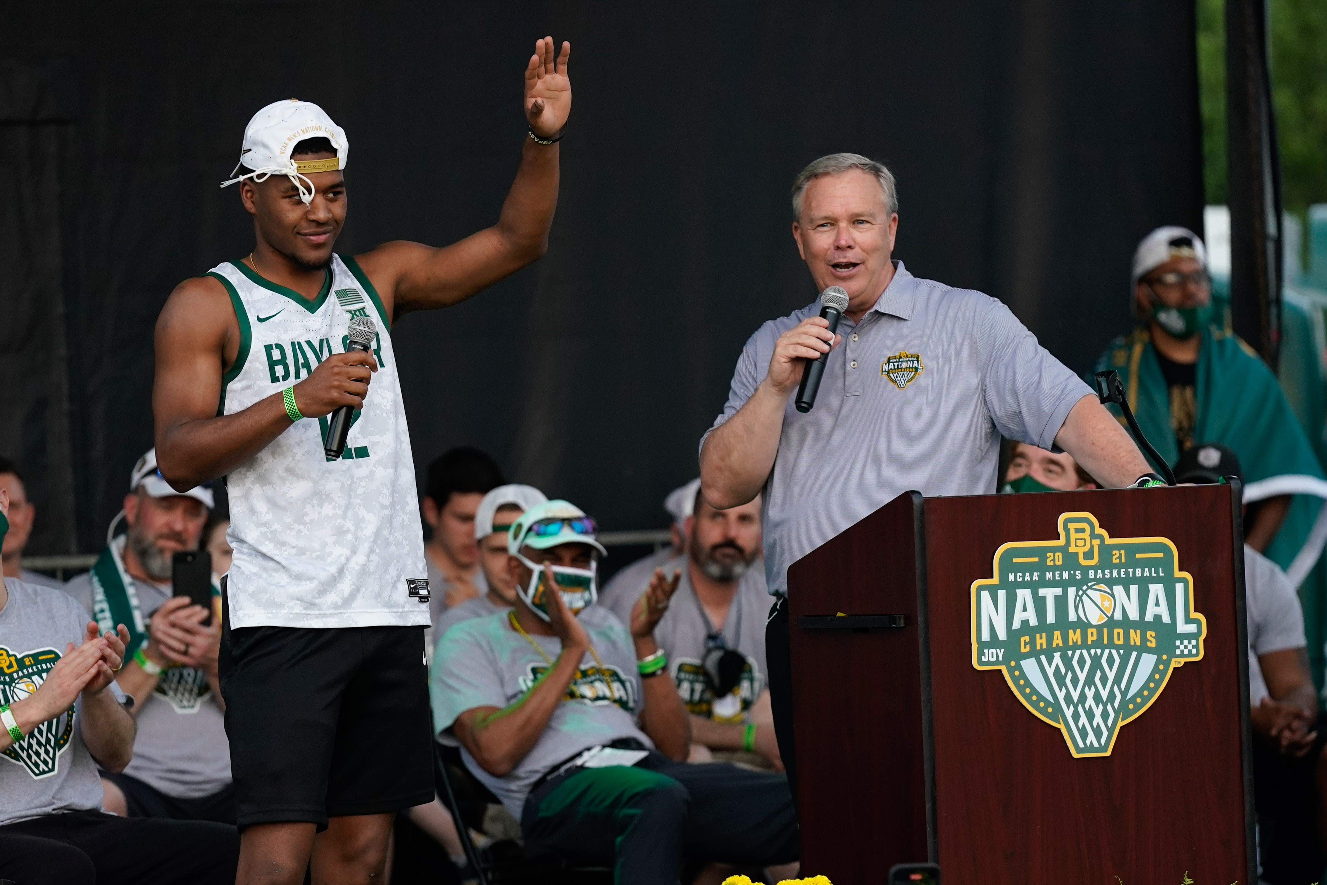 NCAA Basketball: Final Four Champions-Baylor Celebration