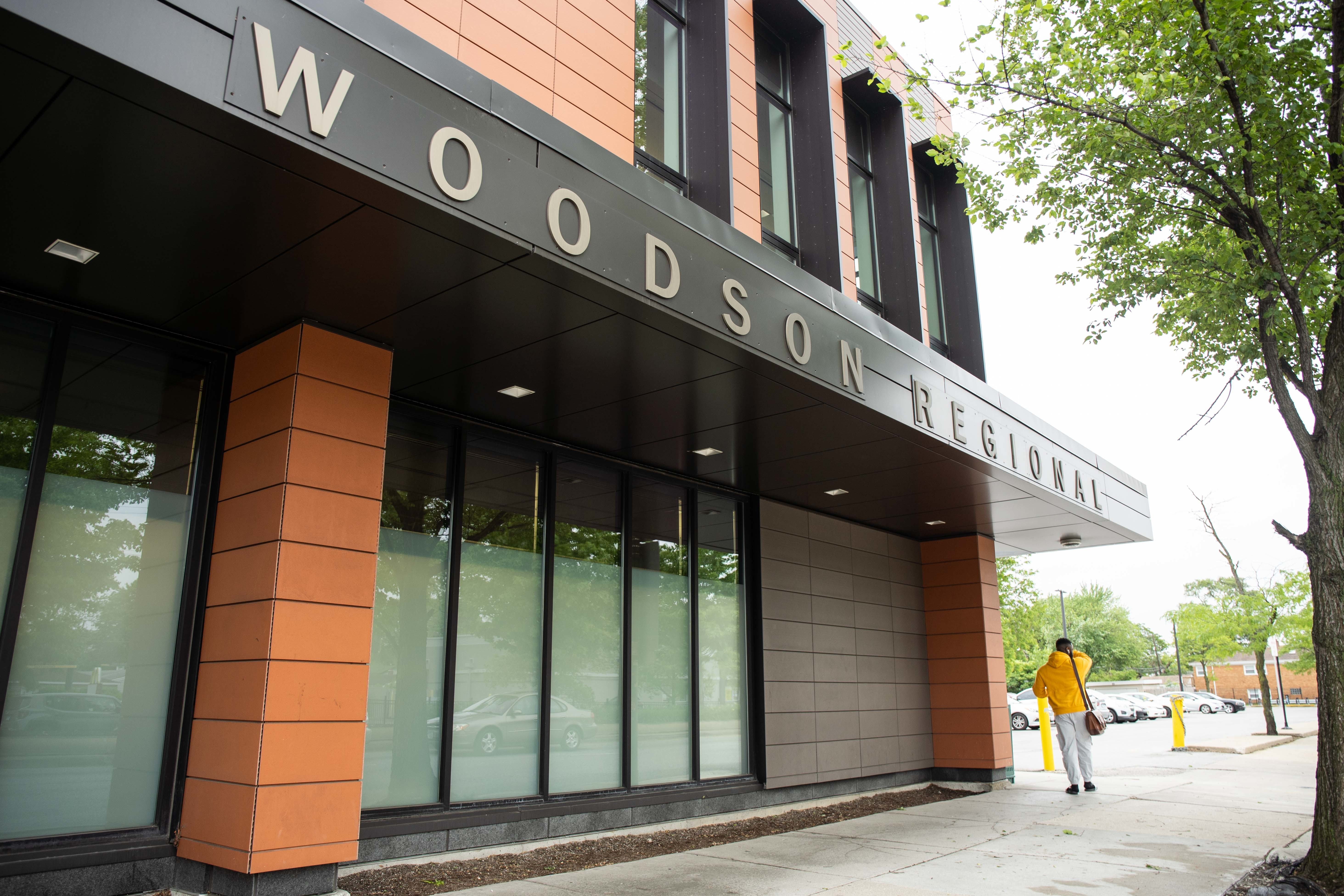 The city opened an enlarged Carter G. Woodson Regional Library at 95th and Halsted streets in 2018.