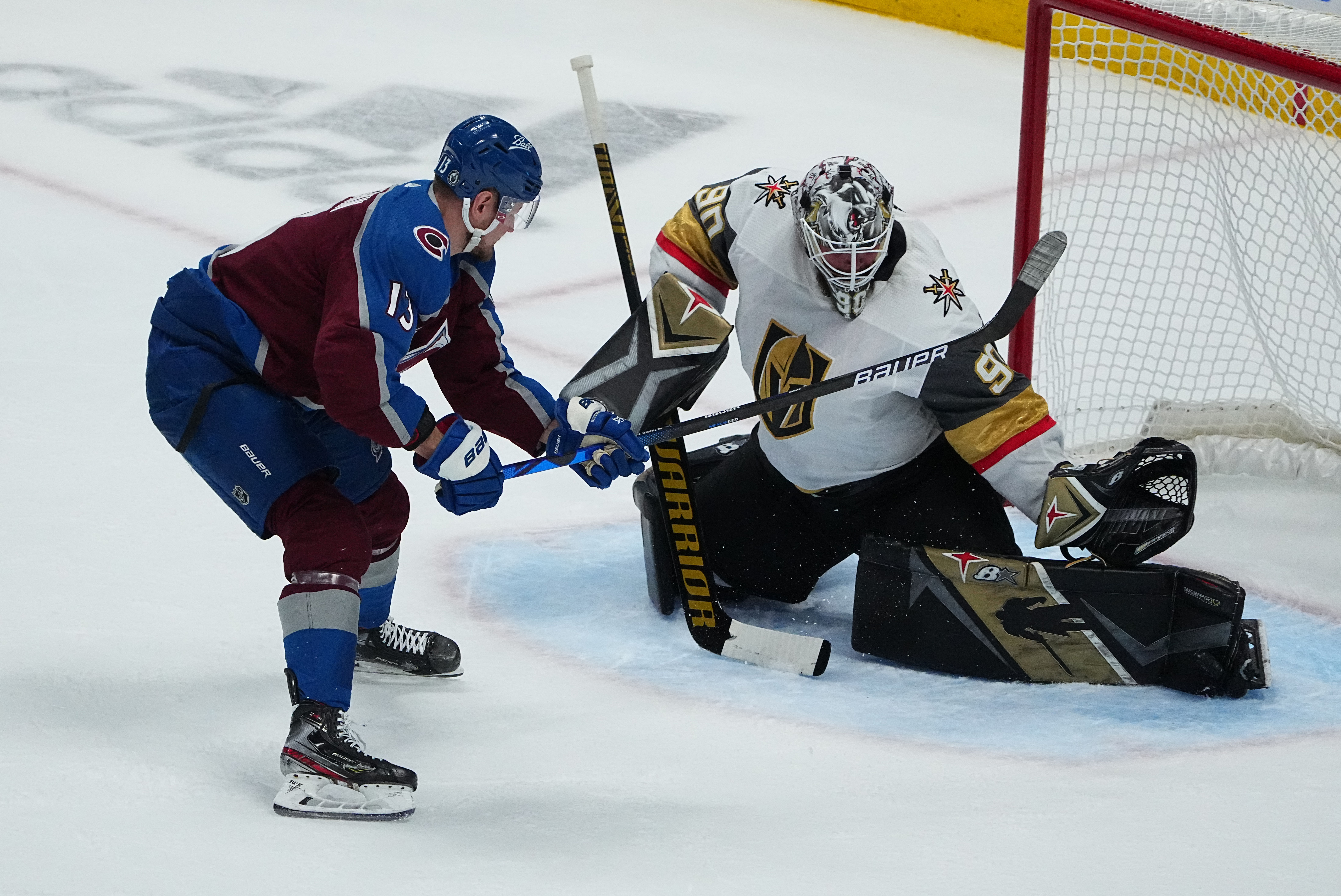 NHL: Stanley Cup Playoffs-Vegas Golden Knights at Colorado Avalanche