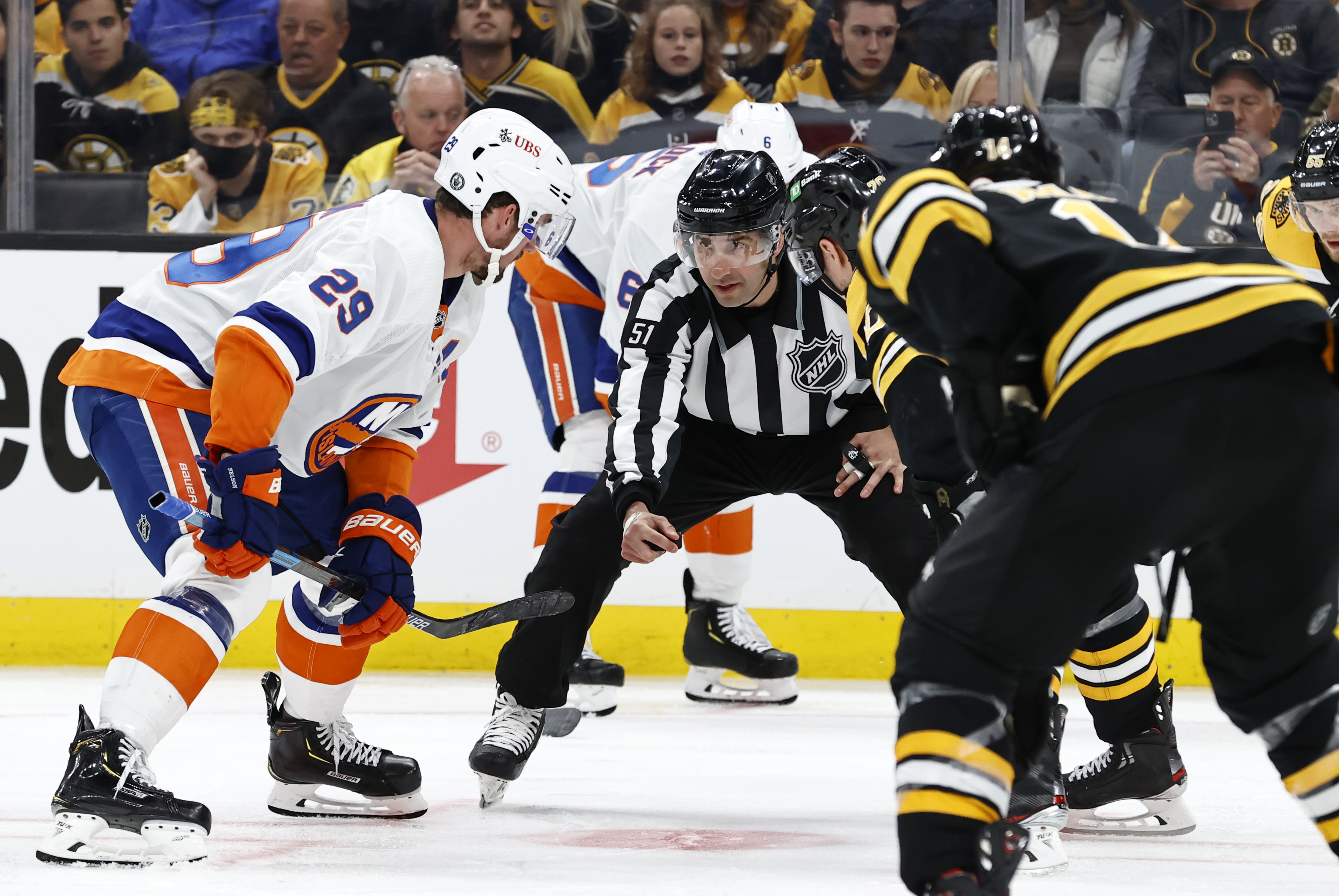 NHL: MAY 29 Stanley Cup Playoffs Second Round - Islanders at Bruins