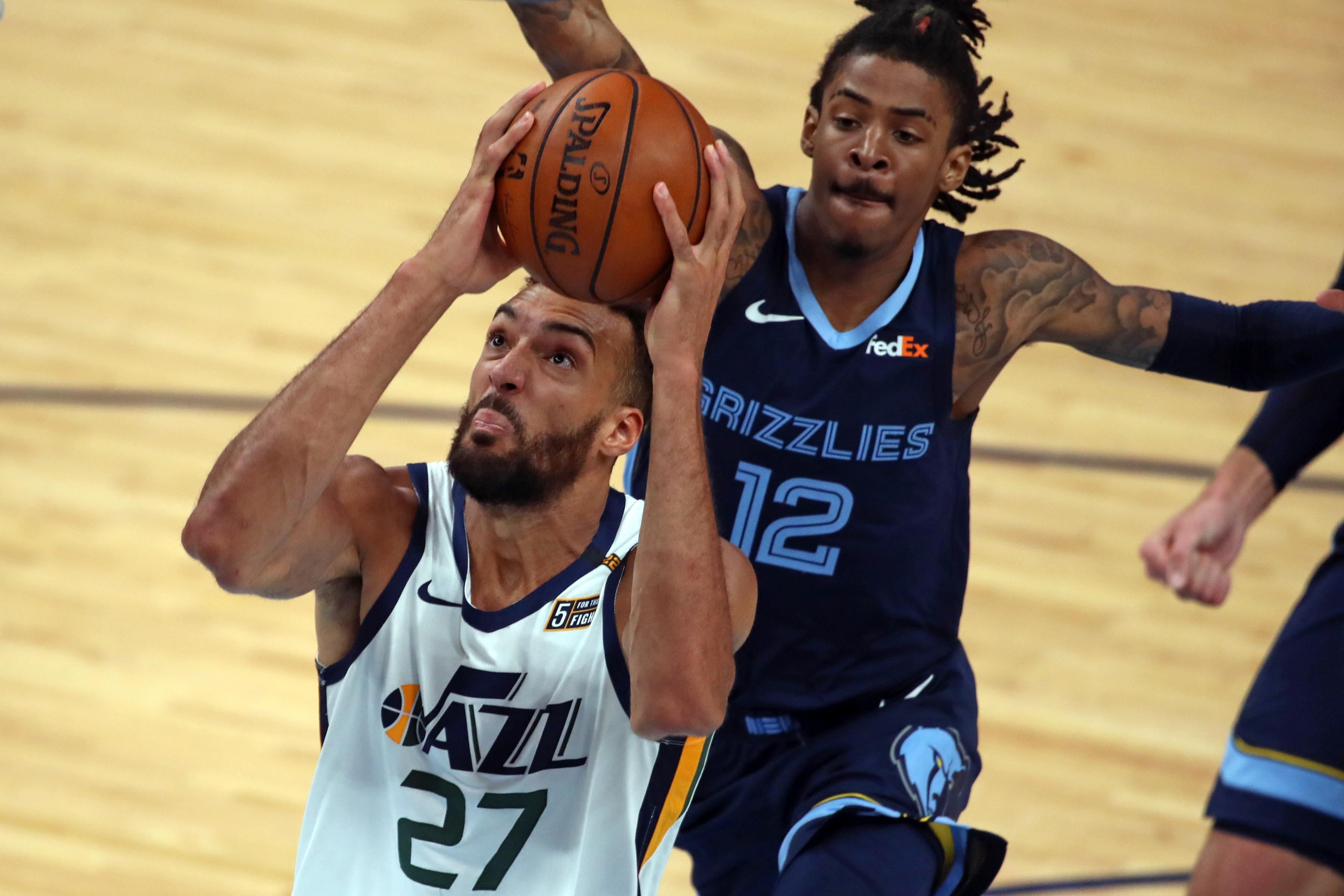 NBA: Playoffs-Utah Jazz at Memphis Grizzlies