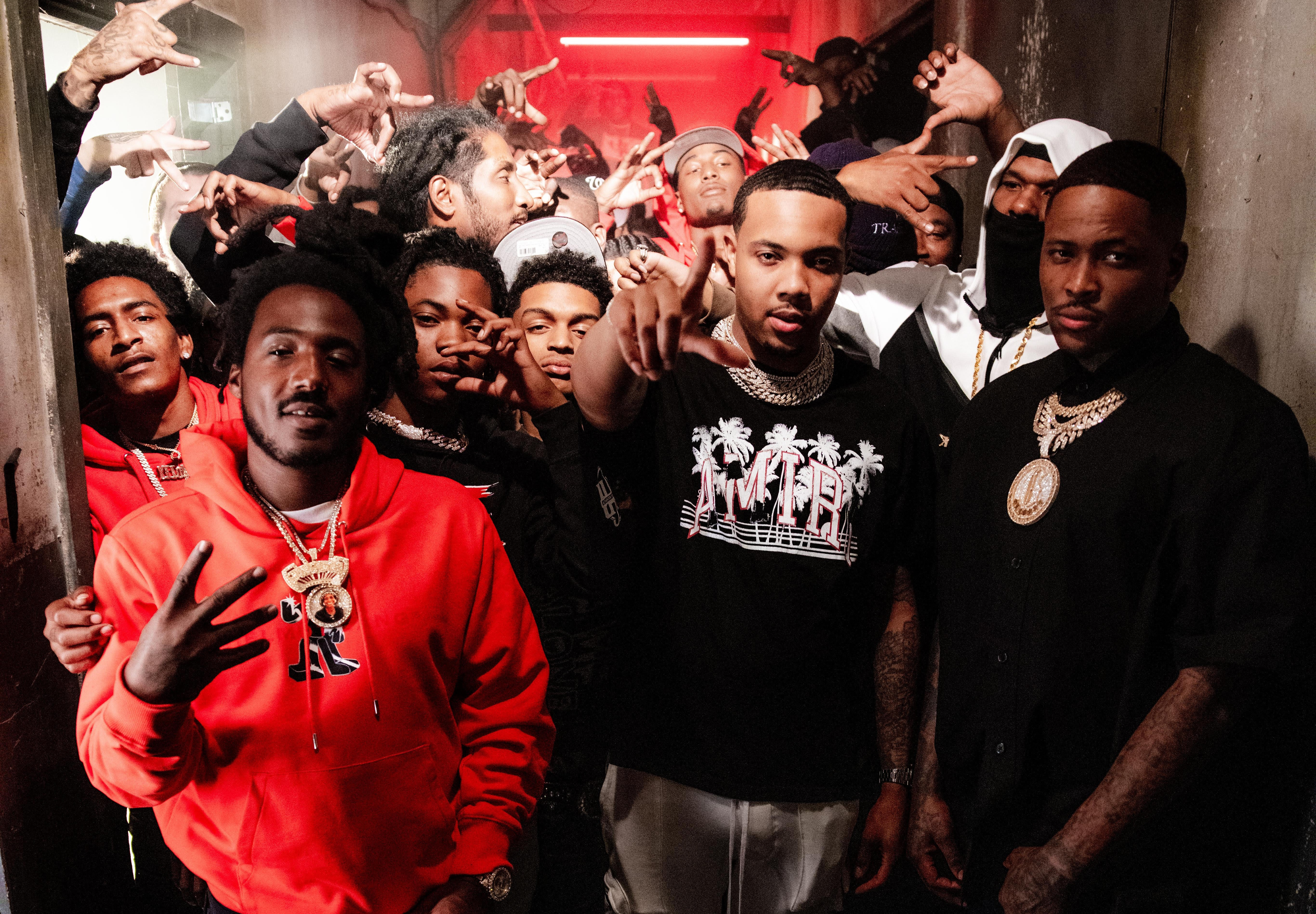 Mozzy, YG, and G Herbo