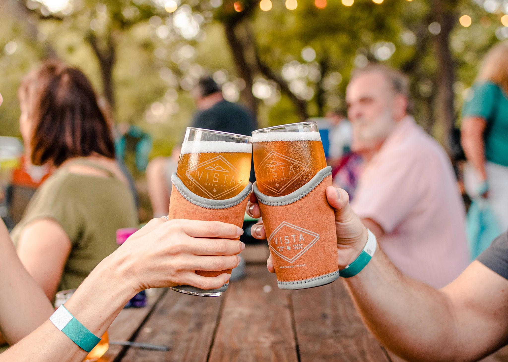 Vista Brewing's San Antonio beer garden