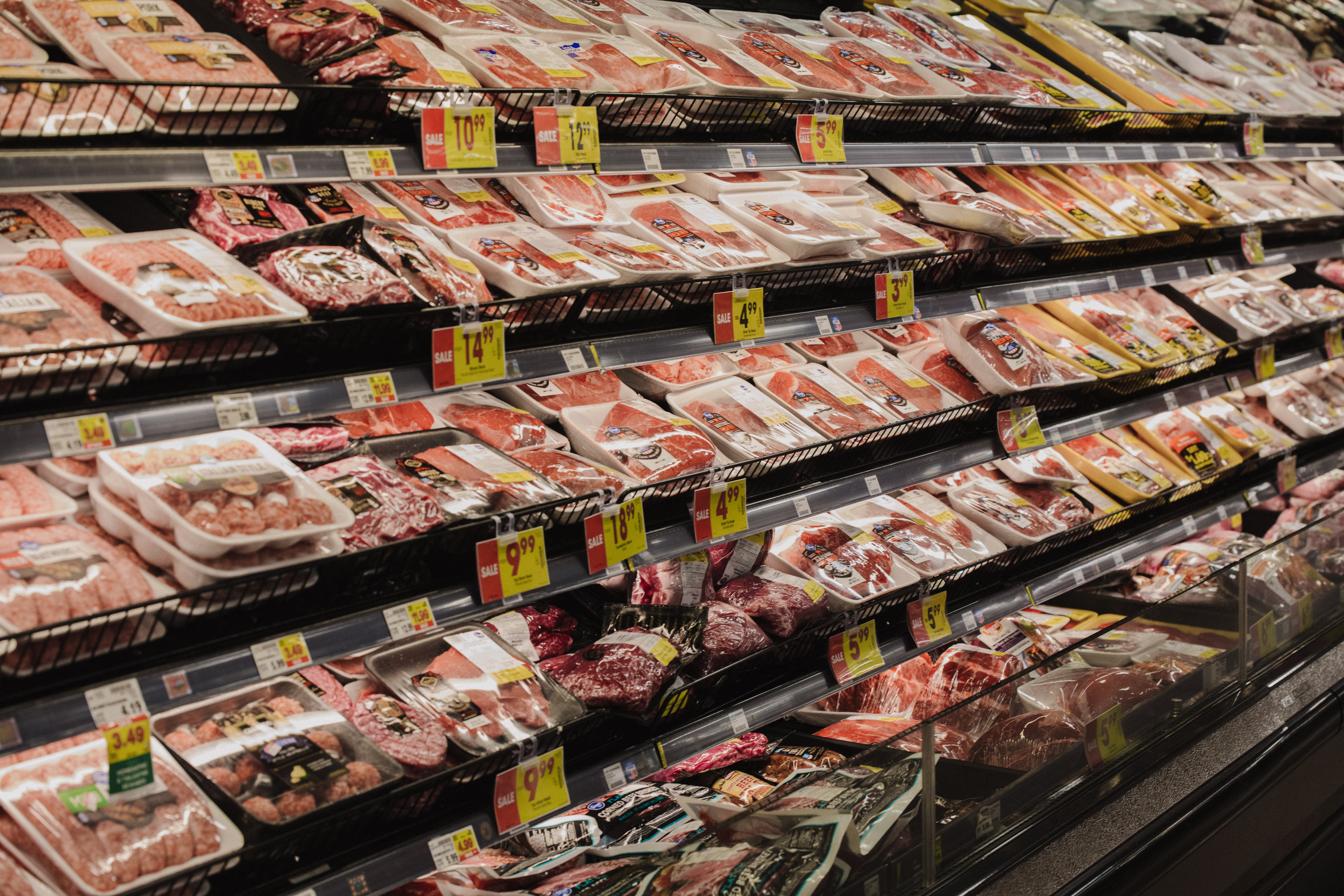 Meat for sale at Kroger Marketplace in Versailles, Kentucky, U.S., on Tuesday, Nov. 24, 2020.