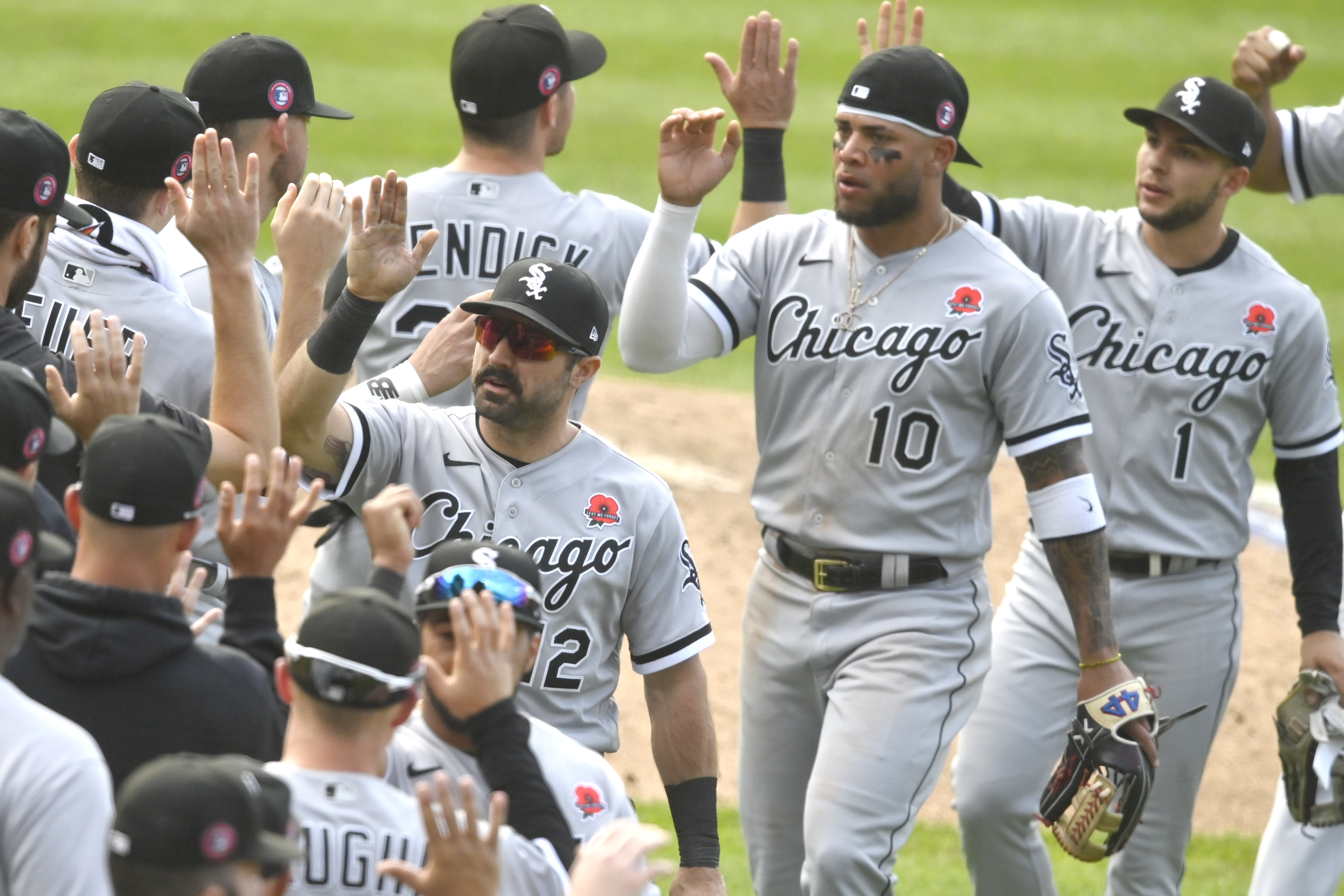 MLB: Game One-Chicago White Sox at Cleveland Indians