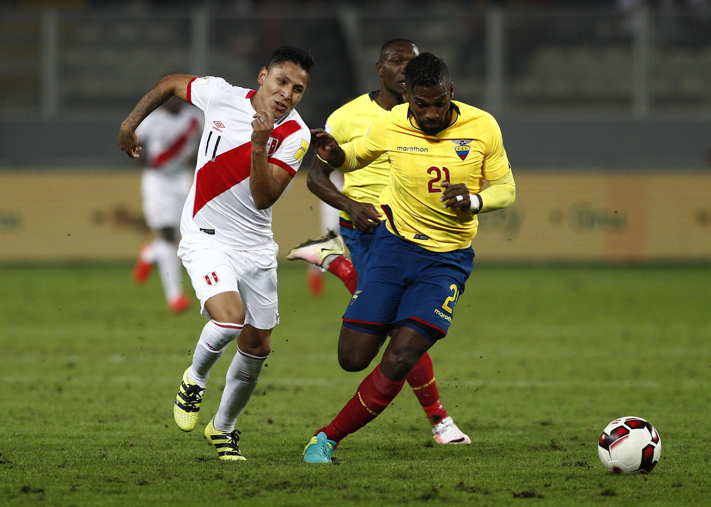 秘鲁V厄瓜多尔 -  FIFA 2018年世界杯资格赛