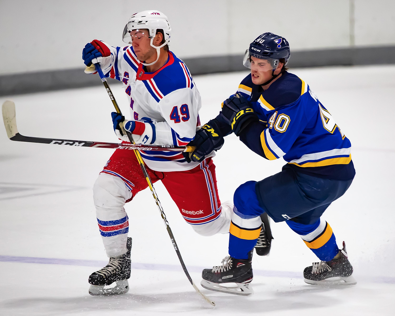 NHL Prospects Tournament Day-5 New York vs St. Louis