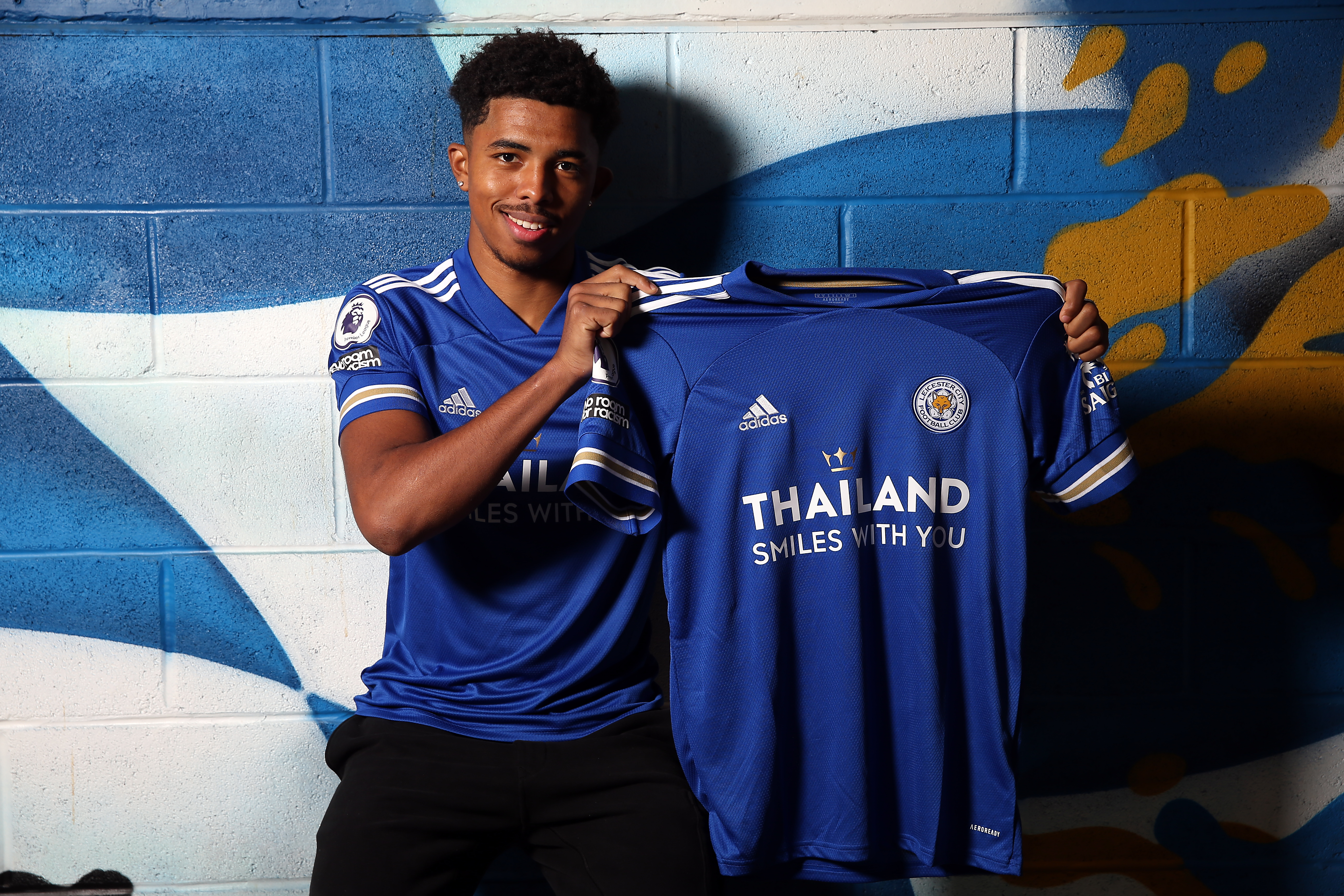 Leicester City Unveil New Signing Wesley Fofana
