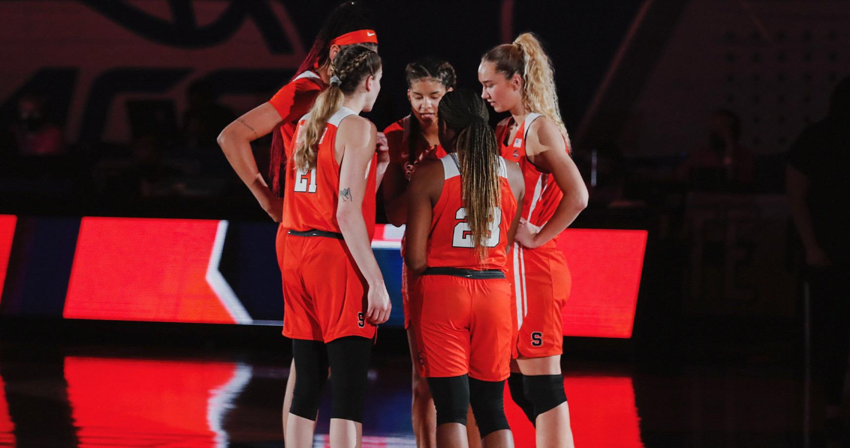 3.5.21   Syracuse basketball at ACC Tournament versus Florida State.