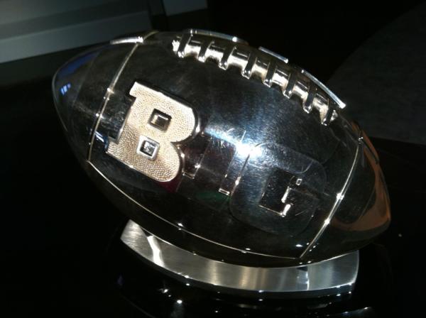 Big Ten Championship Trophy Silver