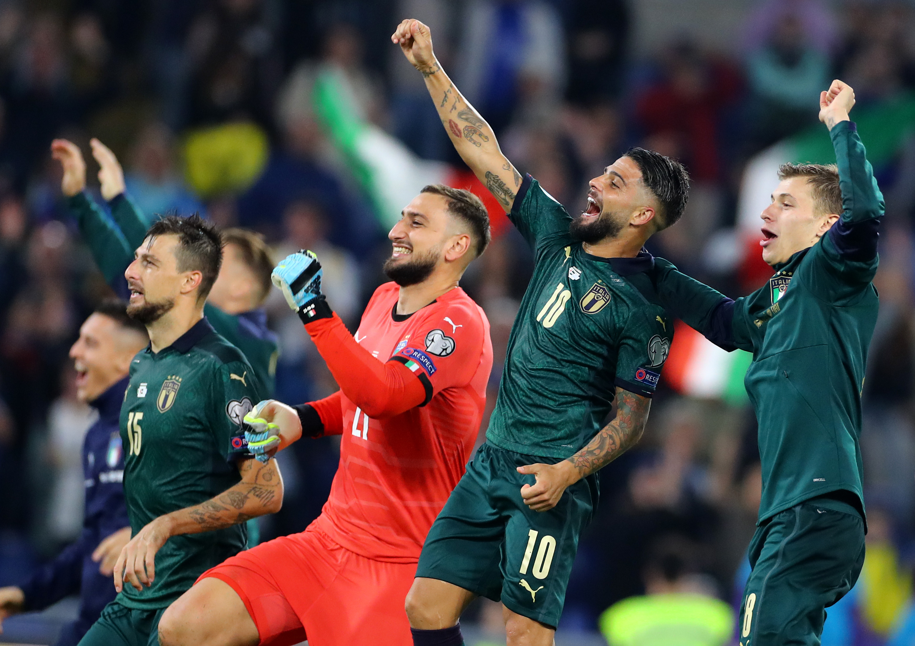 Italy v Greece - UEFA European Qualifiers Euro 2020