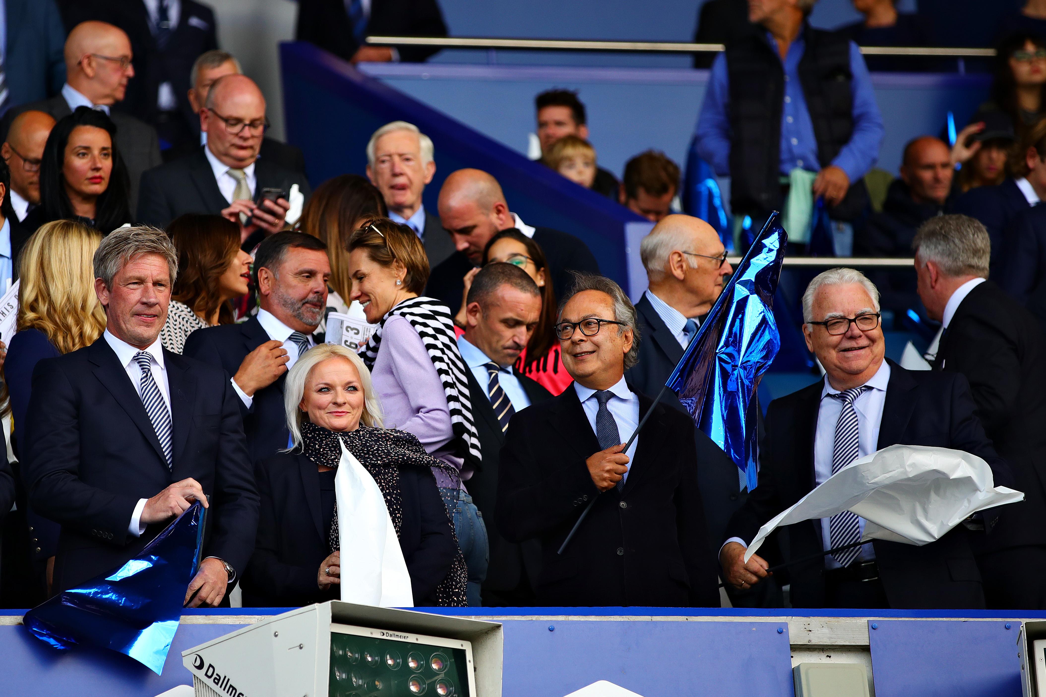 Everton's leadership group