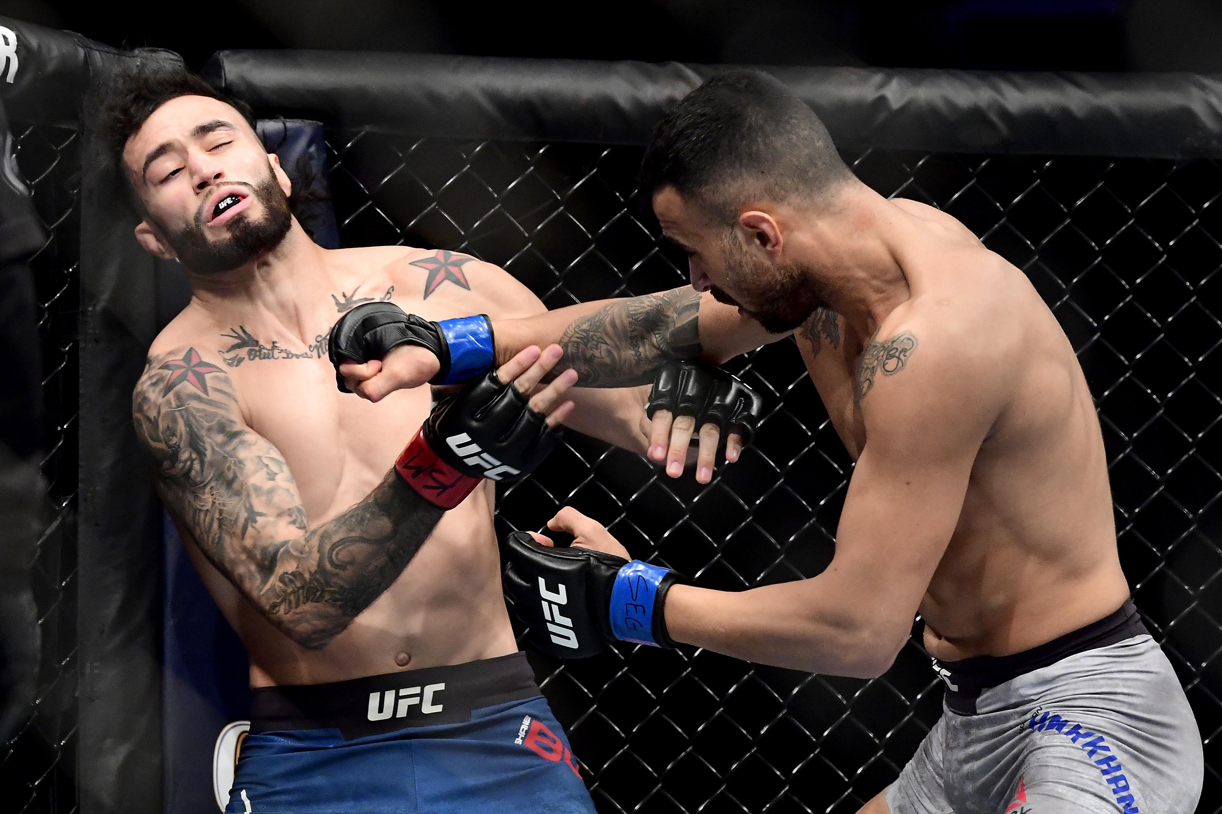 UFC 244 Burgos v Amirkhani