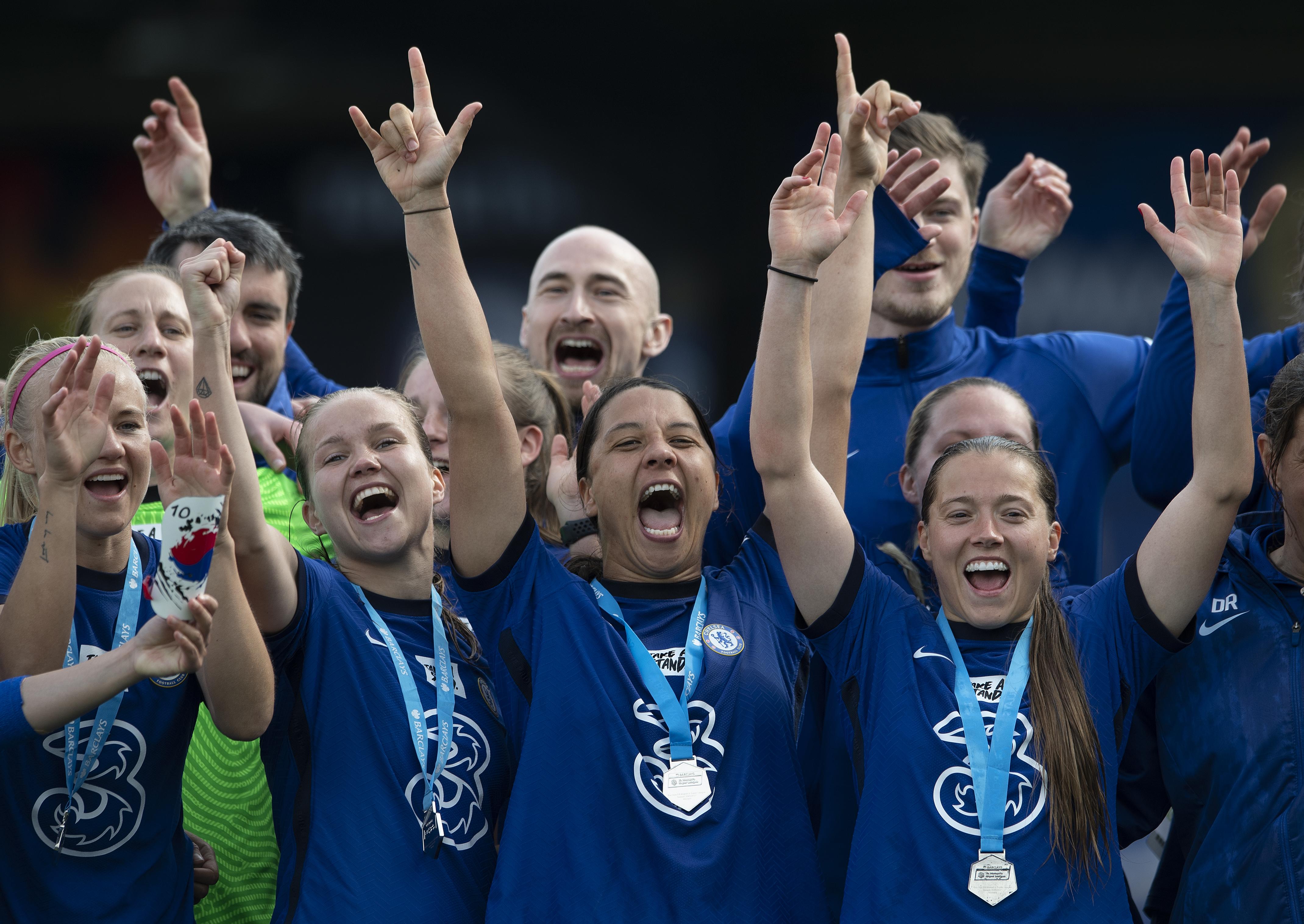 Chelsea Women v Reading Women - Barclays FA Women's Super League - Chelsea Win WSL Title