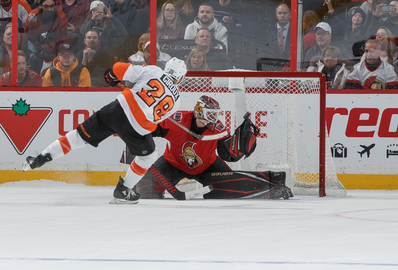 Philadelphia Flyers v Ottawa Senators
