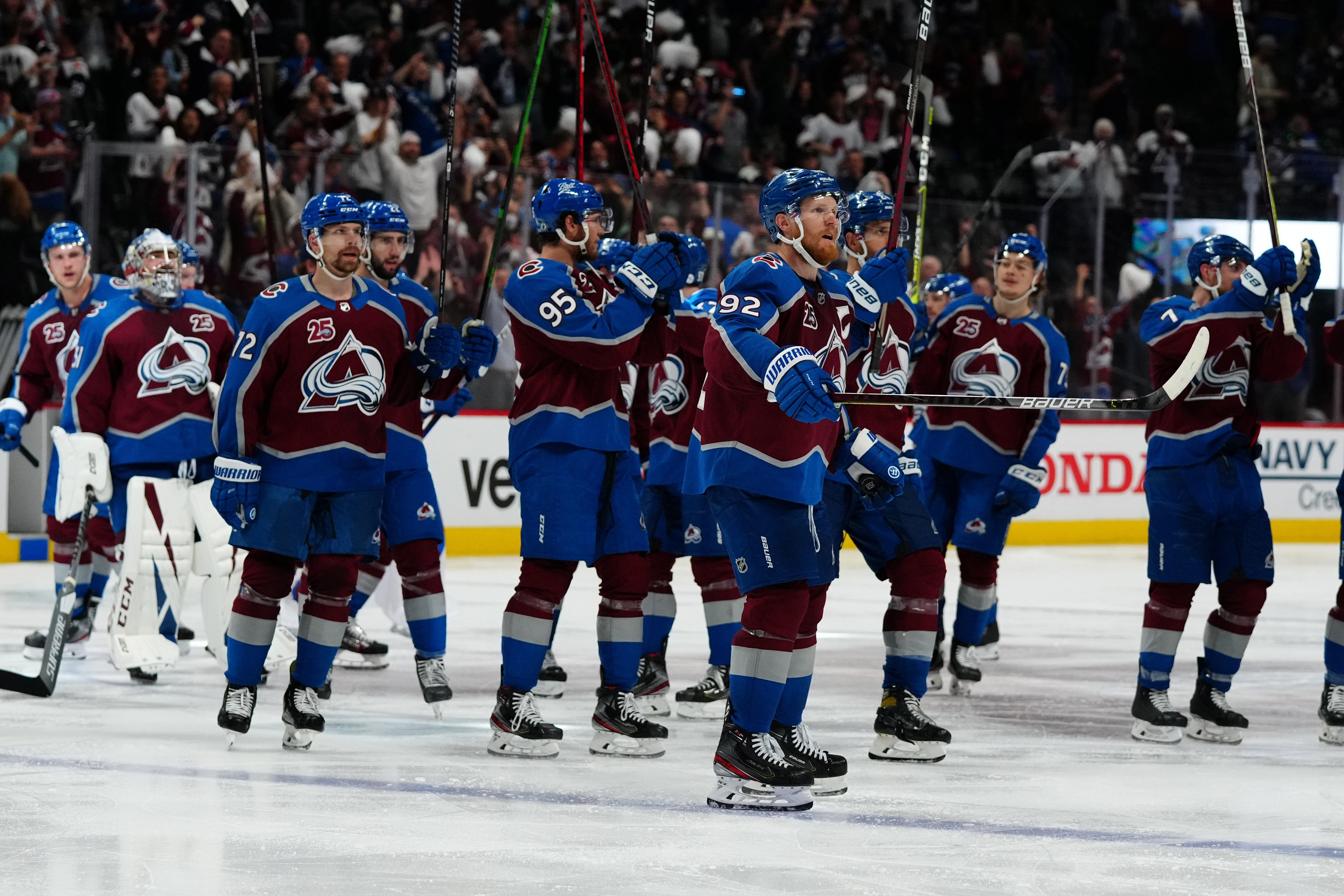 NHL: Vegas at Colorado Avalanche