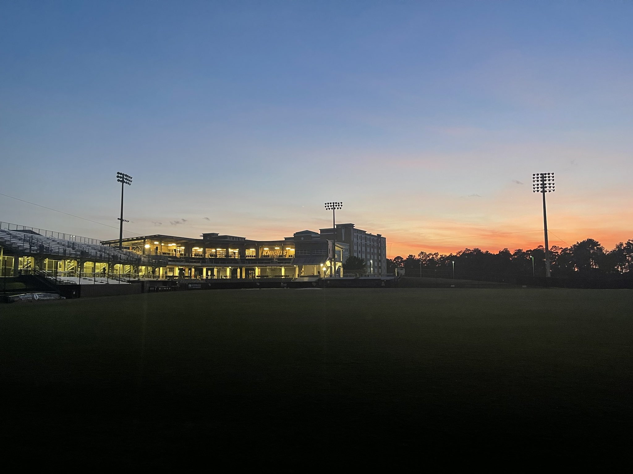 John Euliano Park sunset baseball