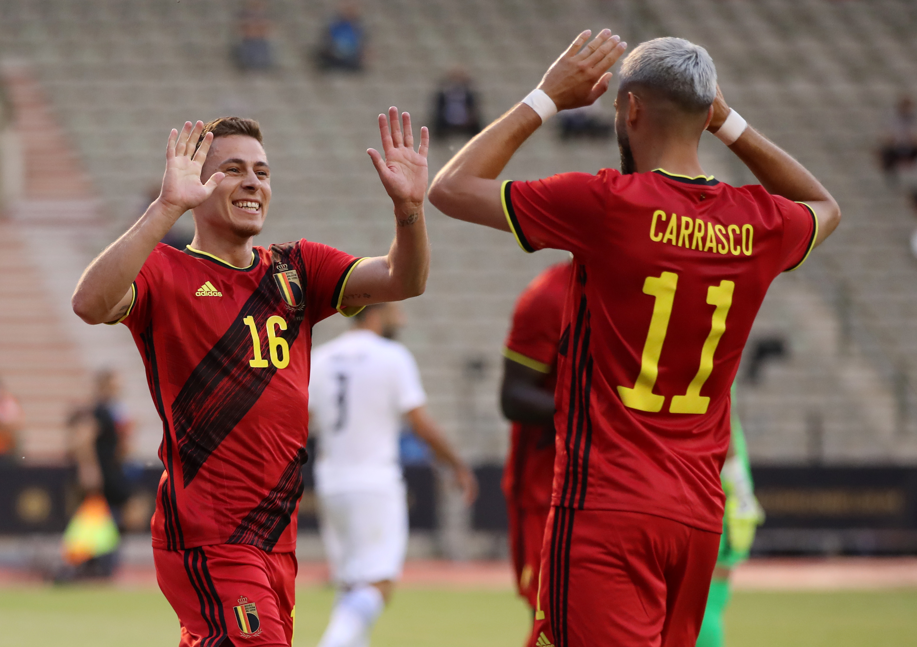 Thorgan Hazard - Belgium - Euro 2020