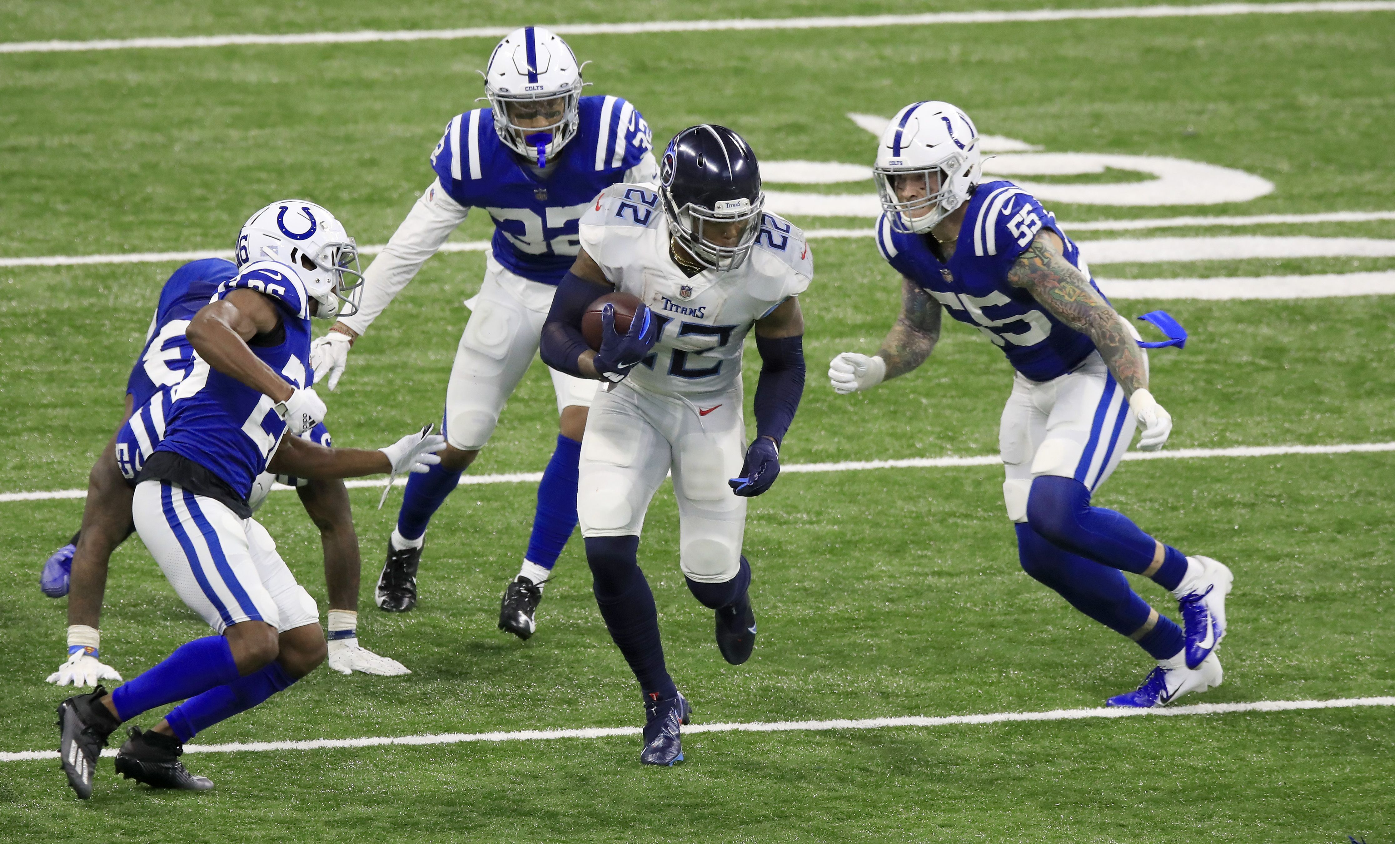 Tennessee Tiatns v Indianapolis Colts