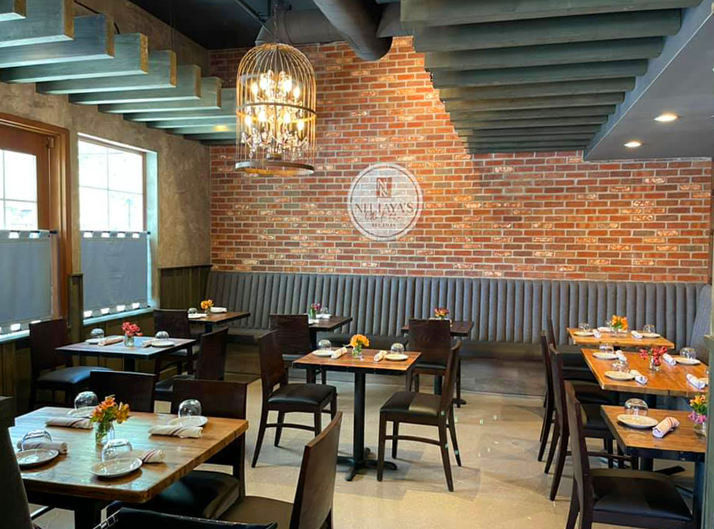 The main dining room at Centnenial's Nittaya's Little Kitchen, from chef and owner Nittaya Parawong.
