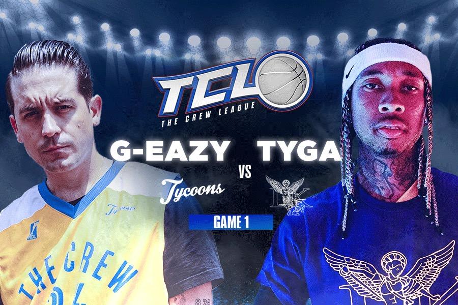 """Tyga vs. G-Eazy   """"The Crew League"""""""