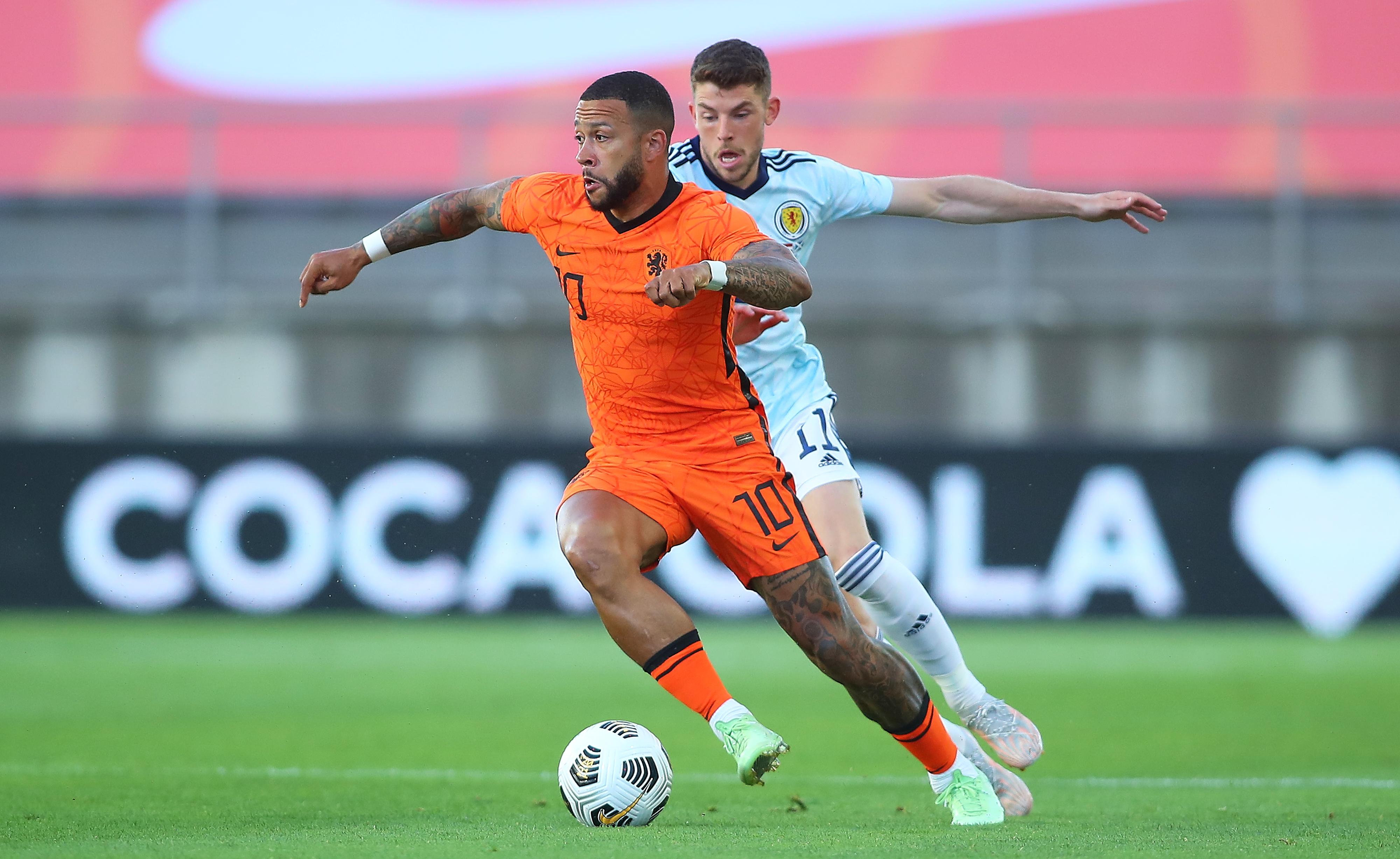 Memphis Depay - Netherlands - Euro 2020