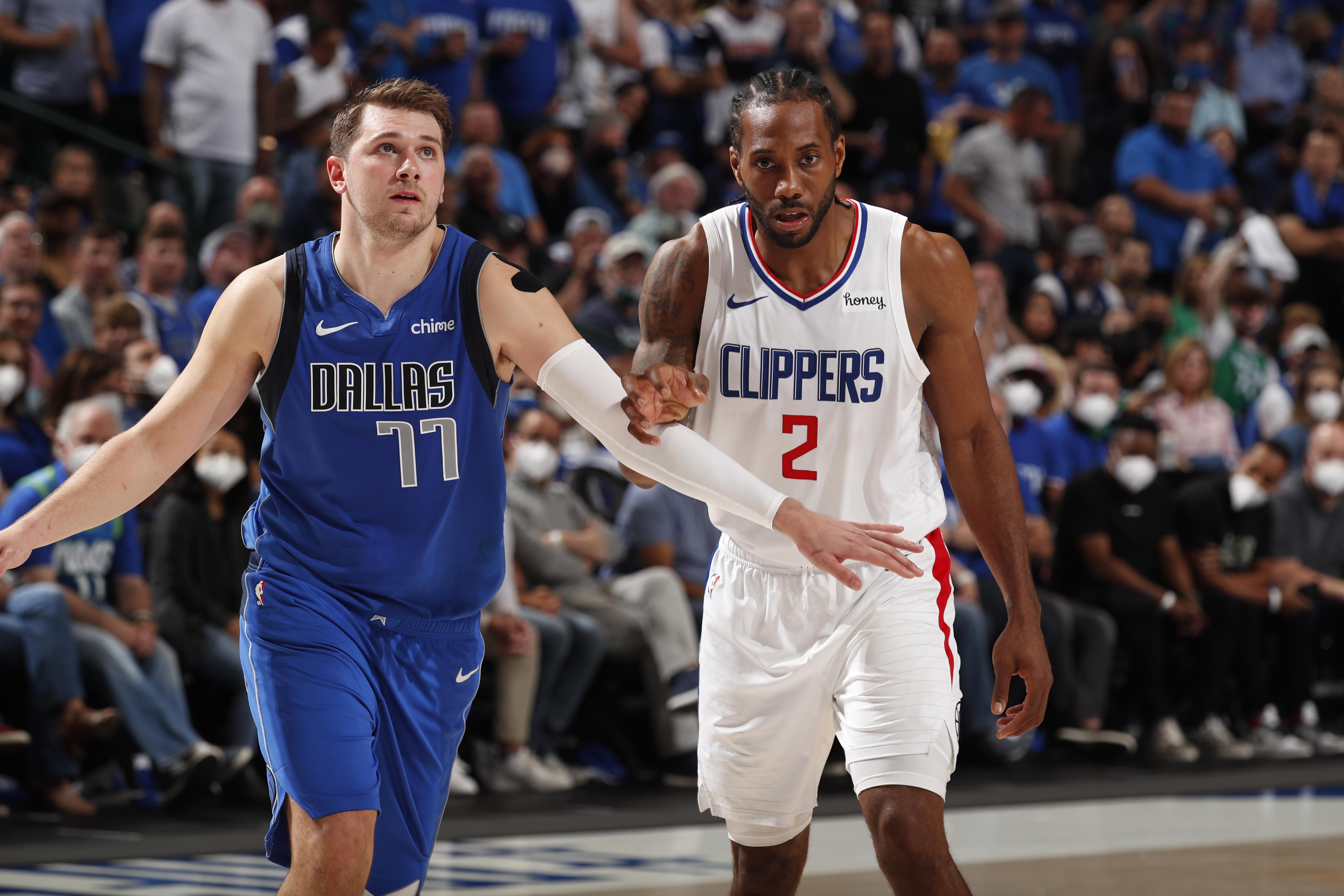 2021年NBA季后赛-洛杉矶快船vs达拉斯小牛队