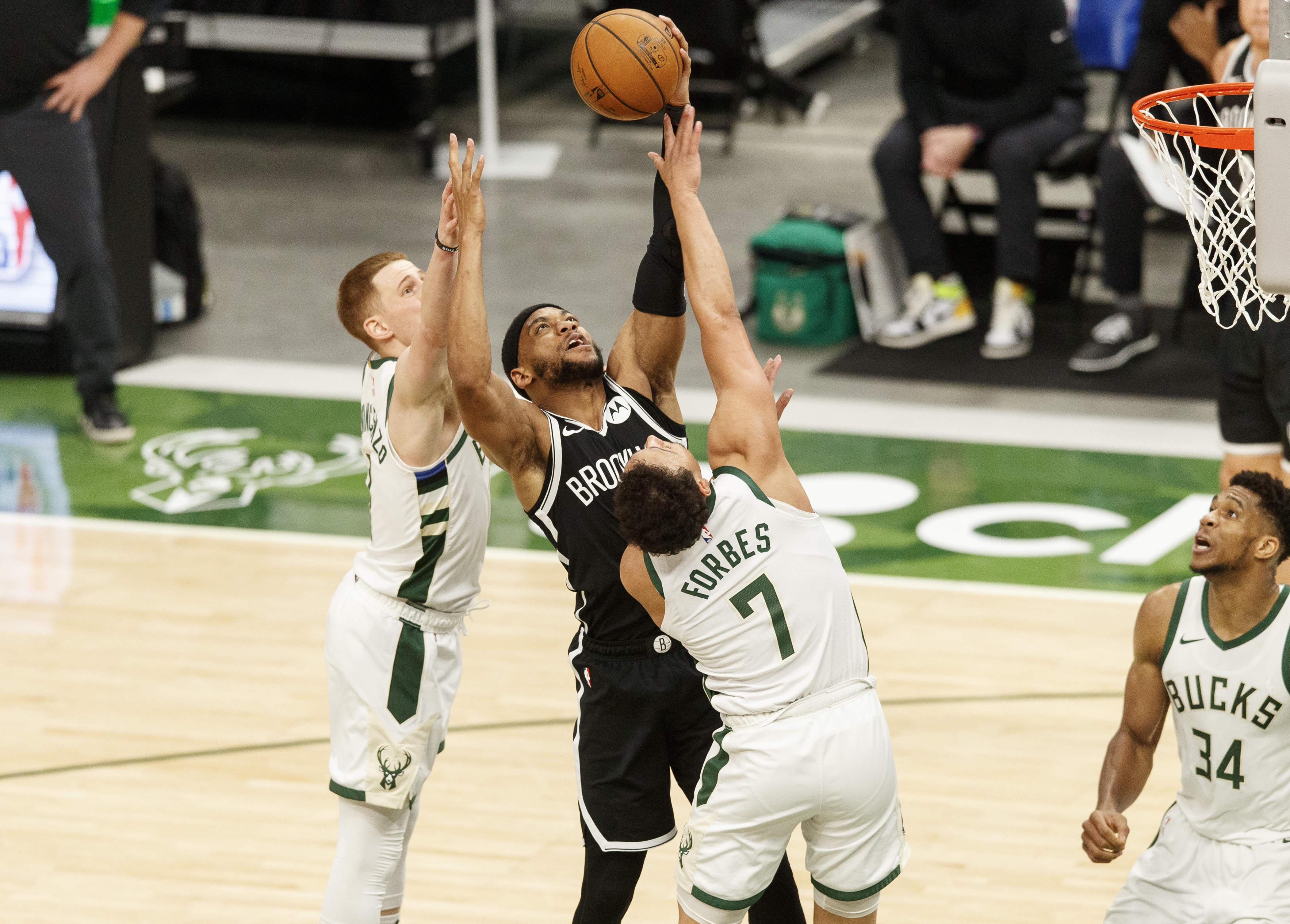 NBA: Brooklyn Nets at Milwaukee Bucks