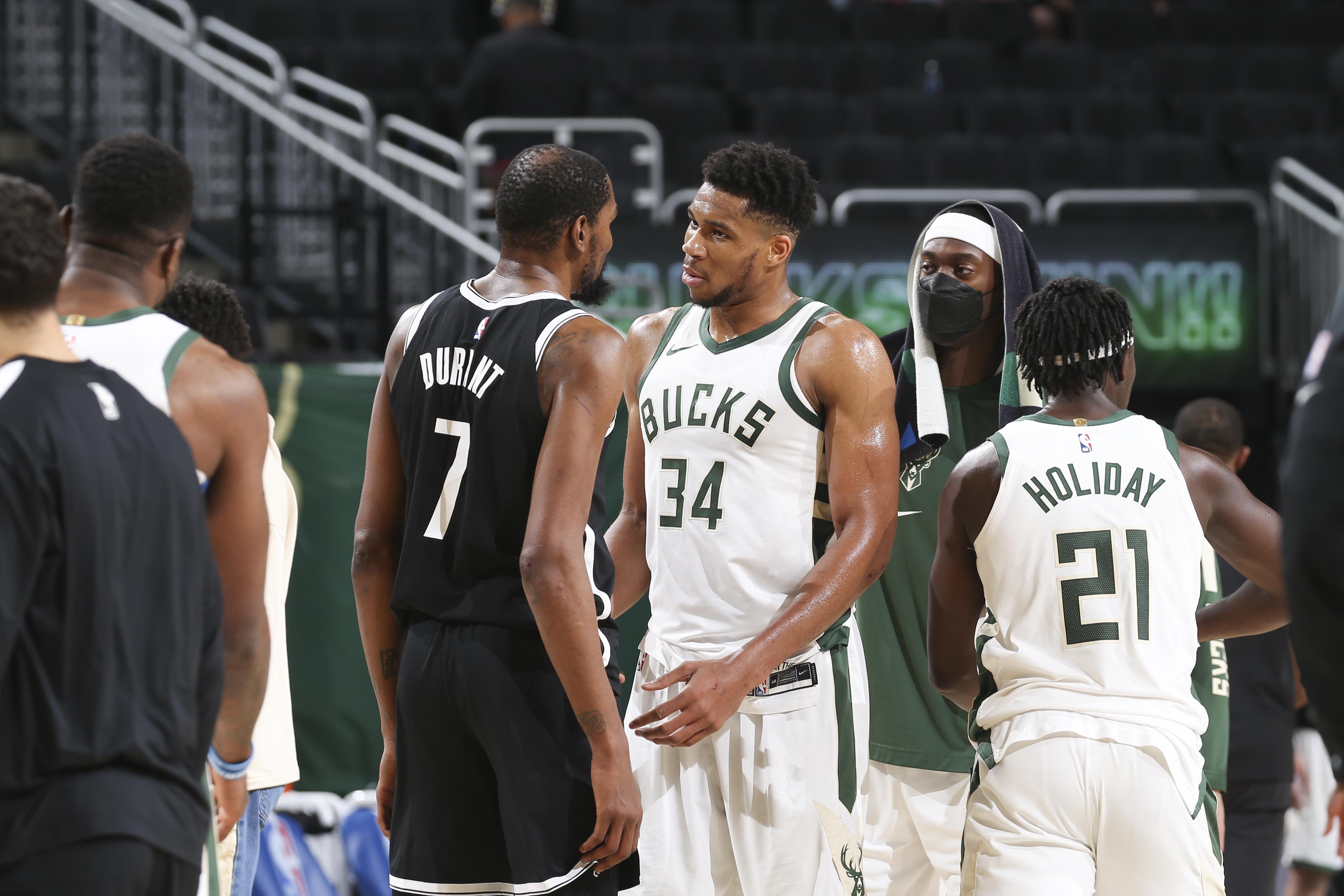Brooklyn Nets v Milwaukee Bucks