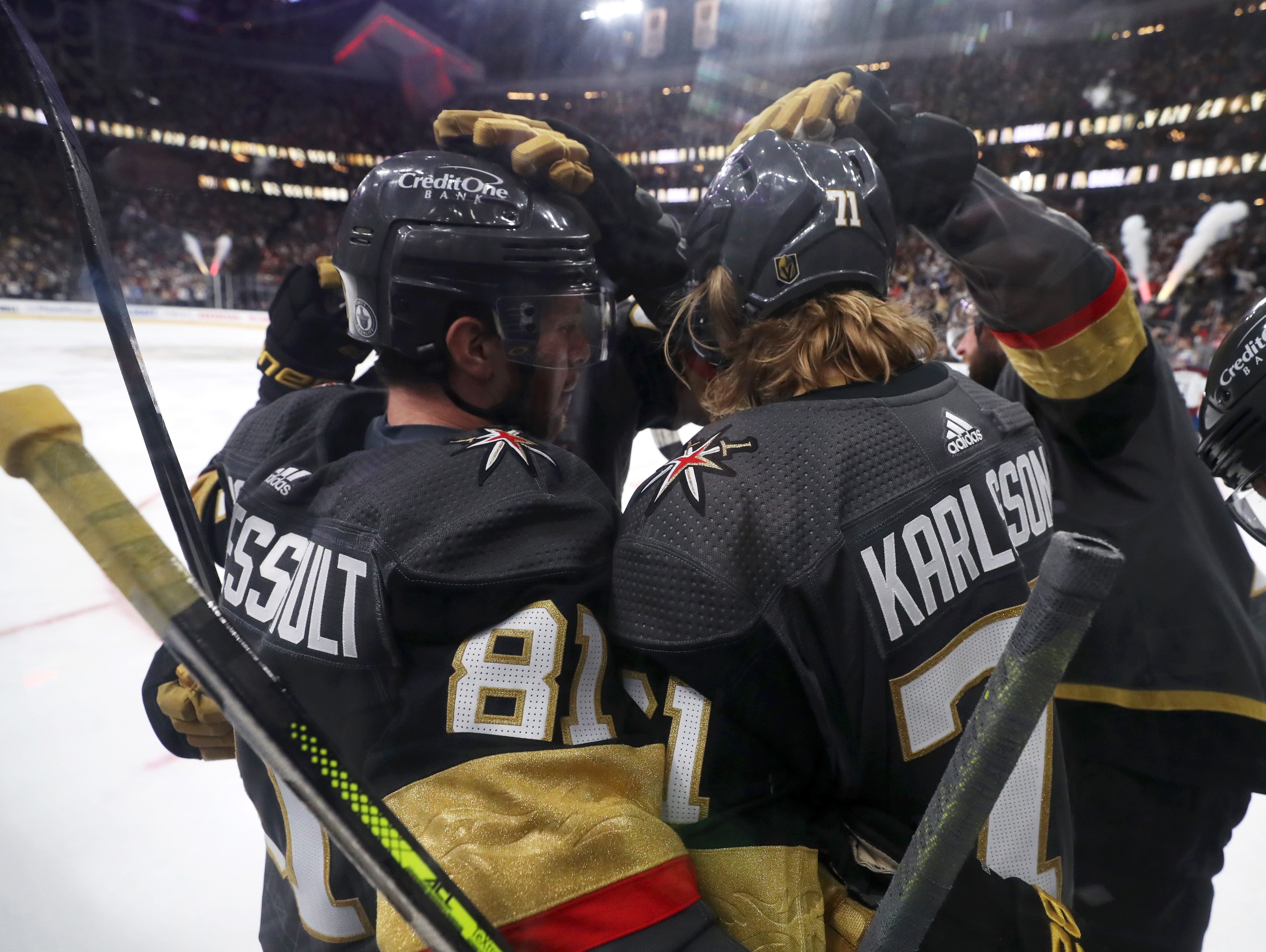 Colorado Avalanche v Vegas Golden Knights - Game Three