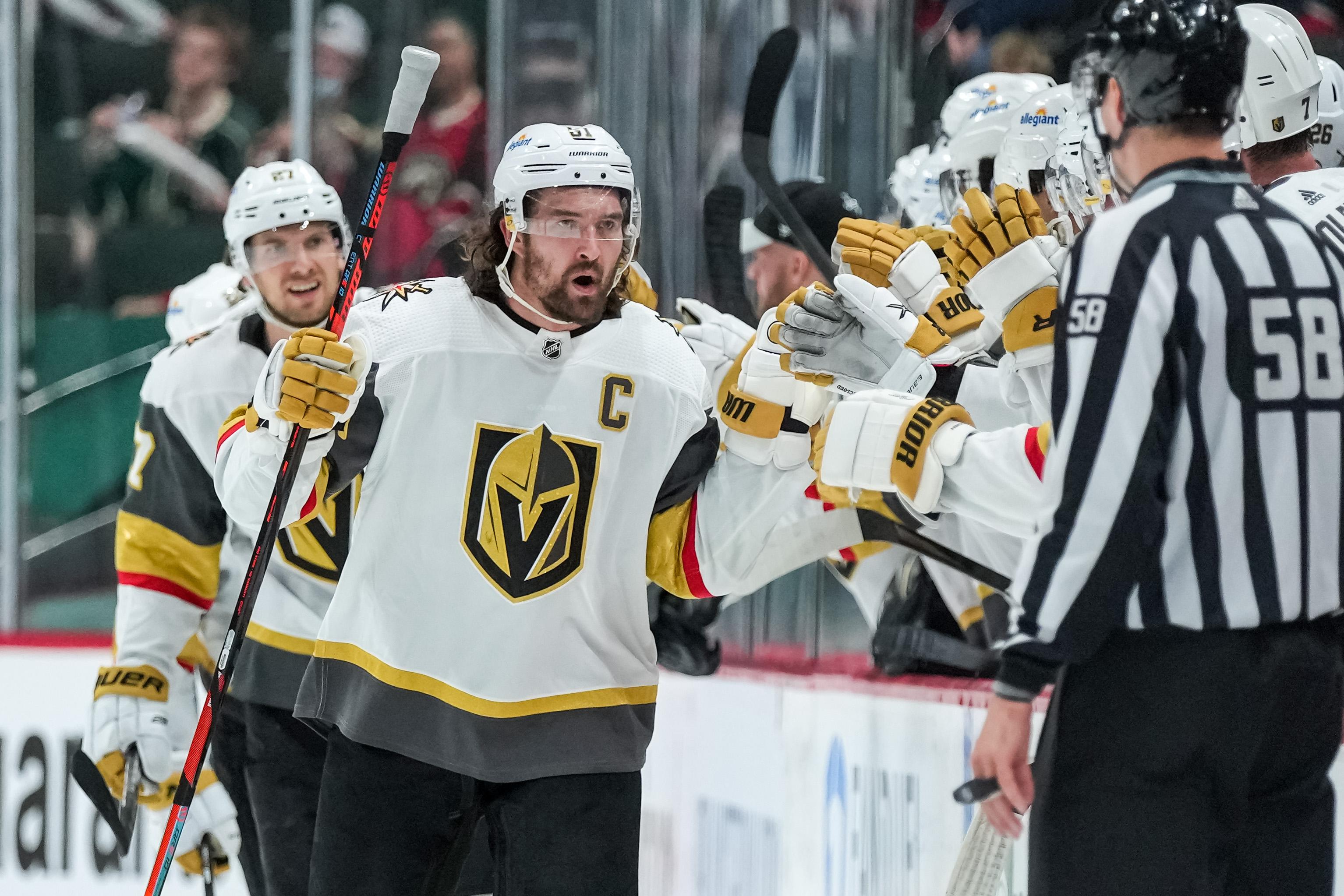 NHL: Stanley Cup Playoffs-Vegas Golden Knights at Minnesota Wild