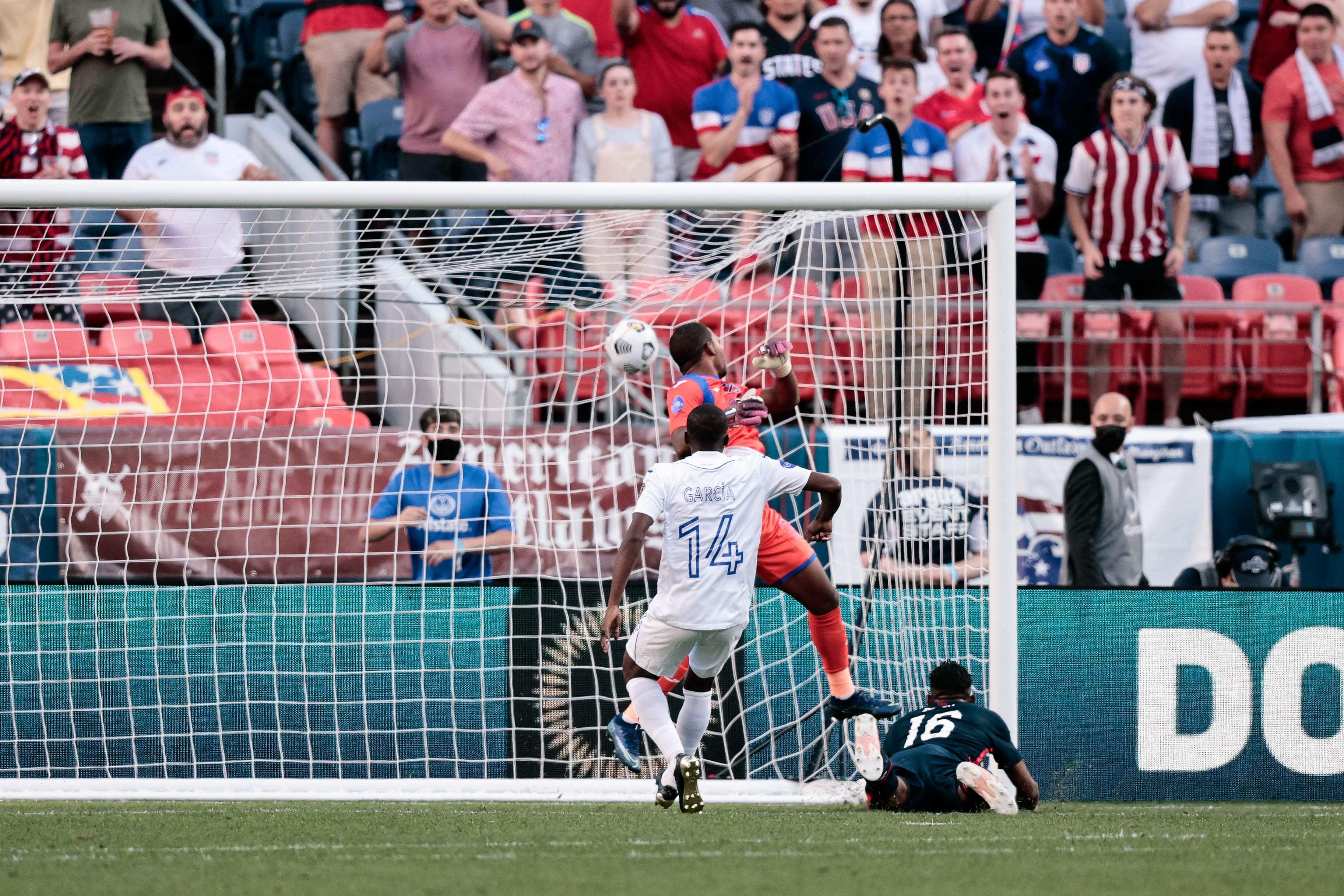 Soccer: 2021 Concacaf Nations League Semifinals-Honduras at USA