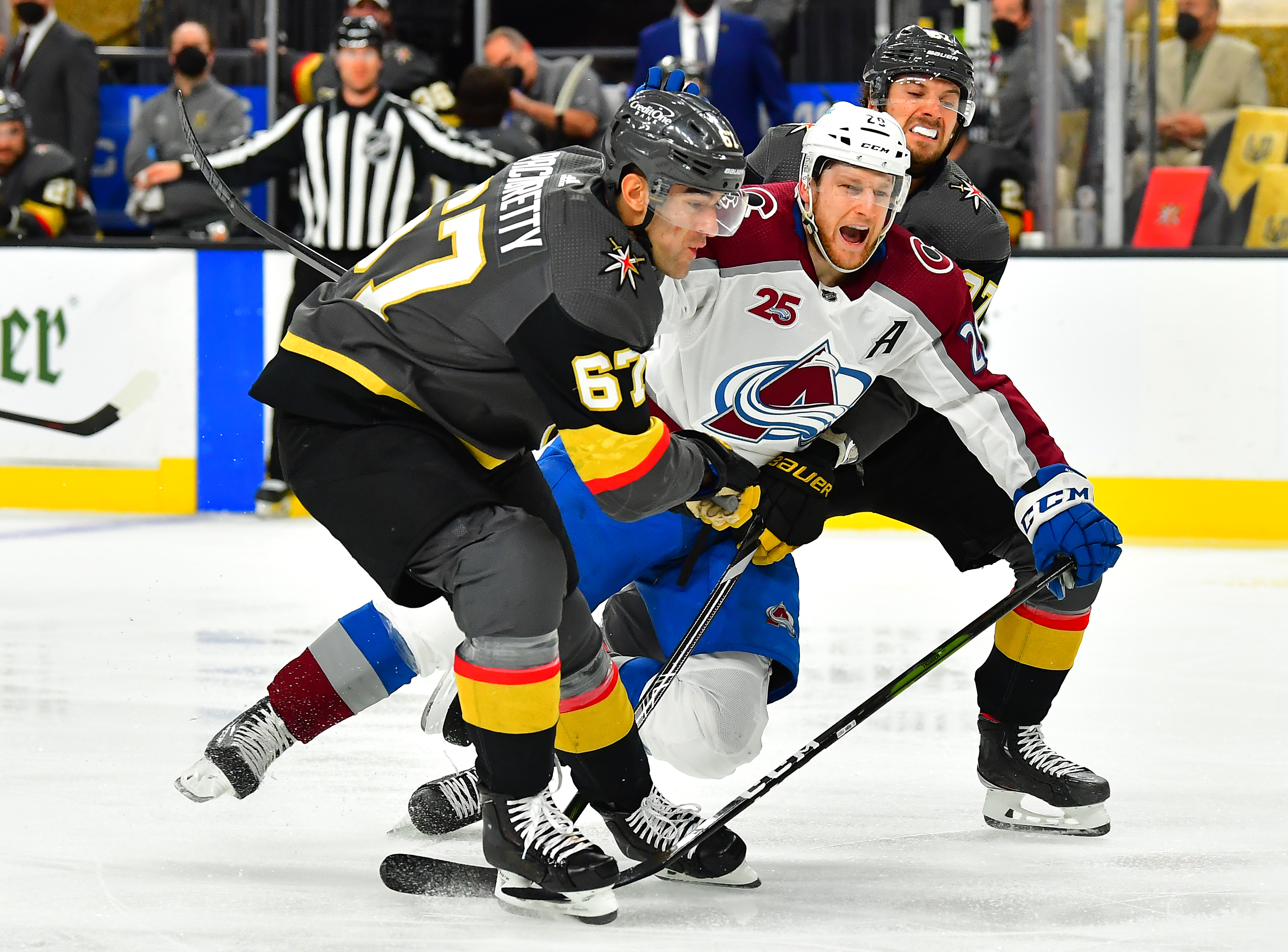 NHL: Colorado Avalanche at Vegas