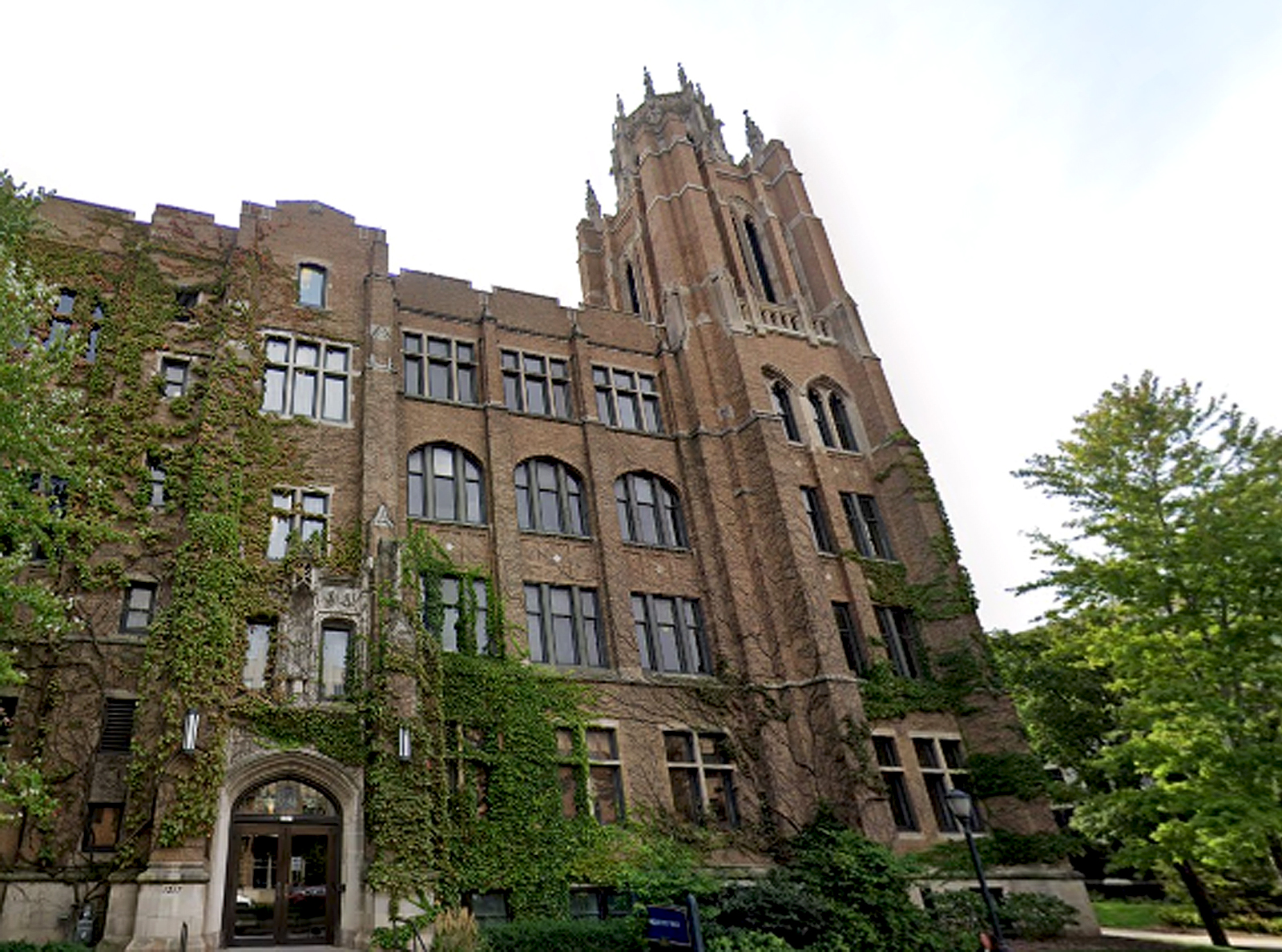 Marquette Hall, 1217 W. Wisconsin Ave., on the Marquette University campus in Milwaukee.