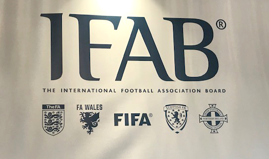 General view of the IFAB logo.